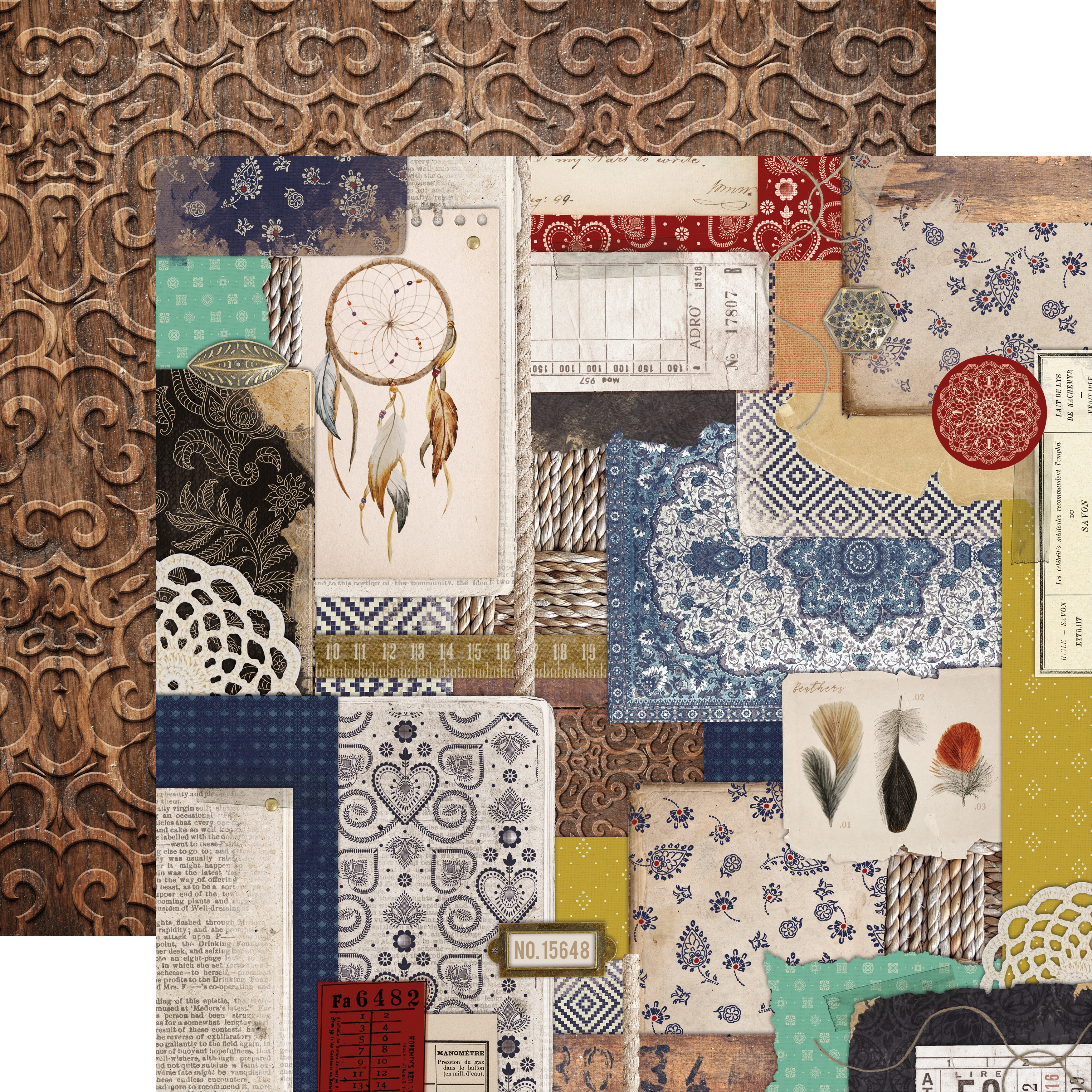Grand Bazaar Double-Sided Cardstock 12X12-Collective