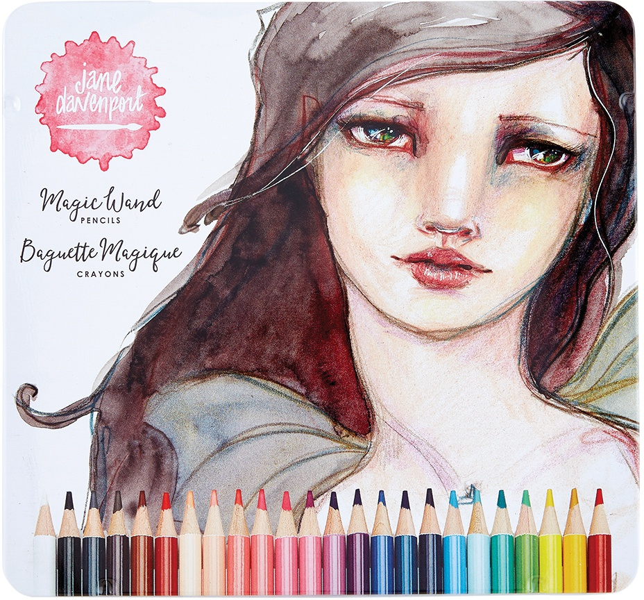 Jane Davenport Magic Wand Pencils 24/Pkg-