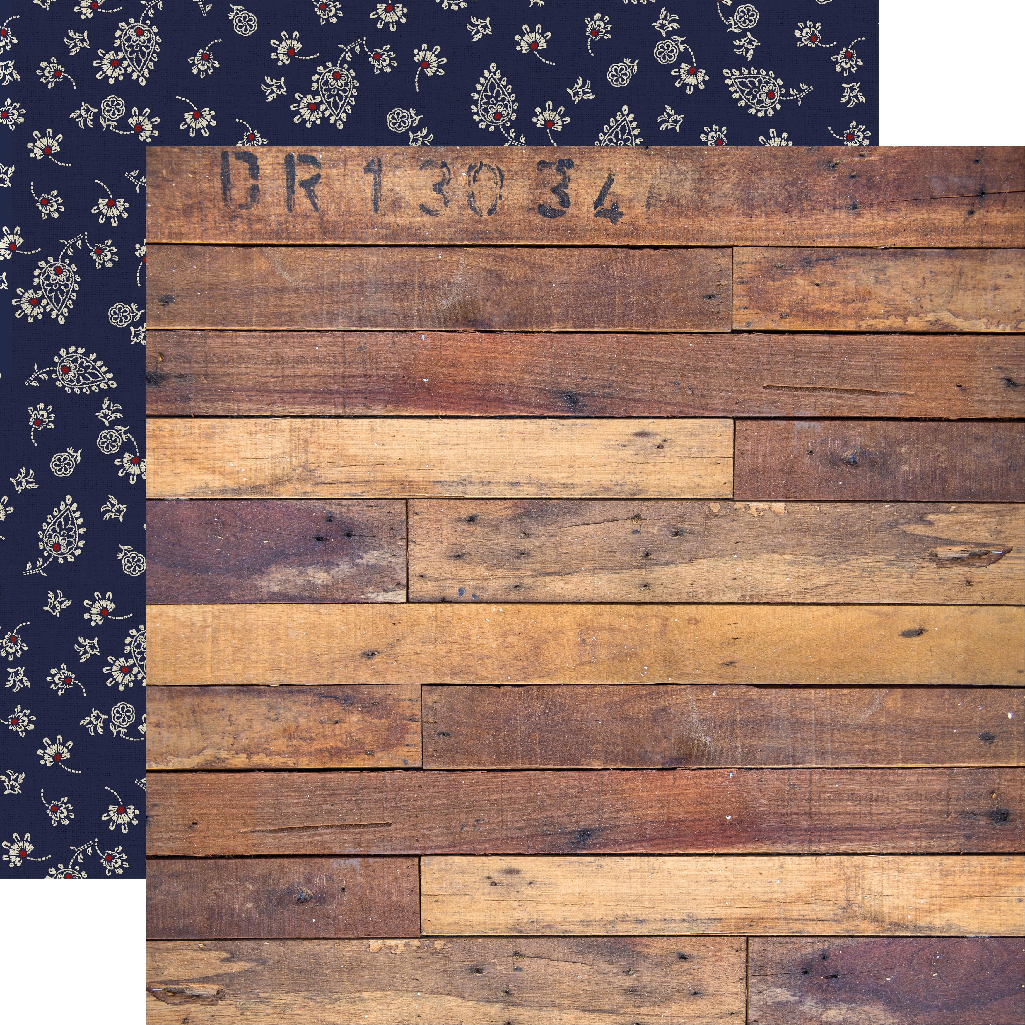 Grand Bazaar Double-Sided Cardstock 12X12-Textiles