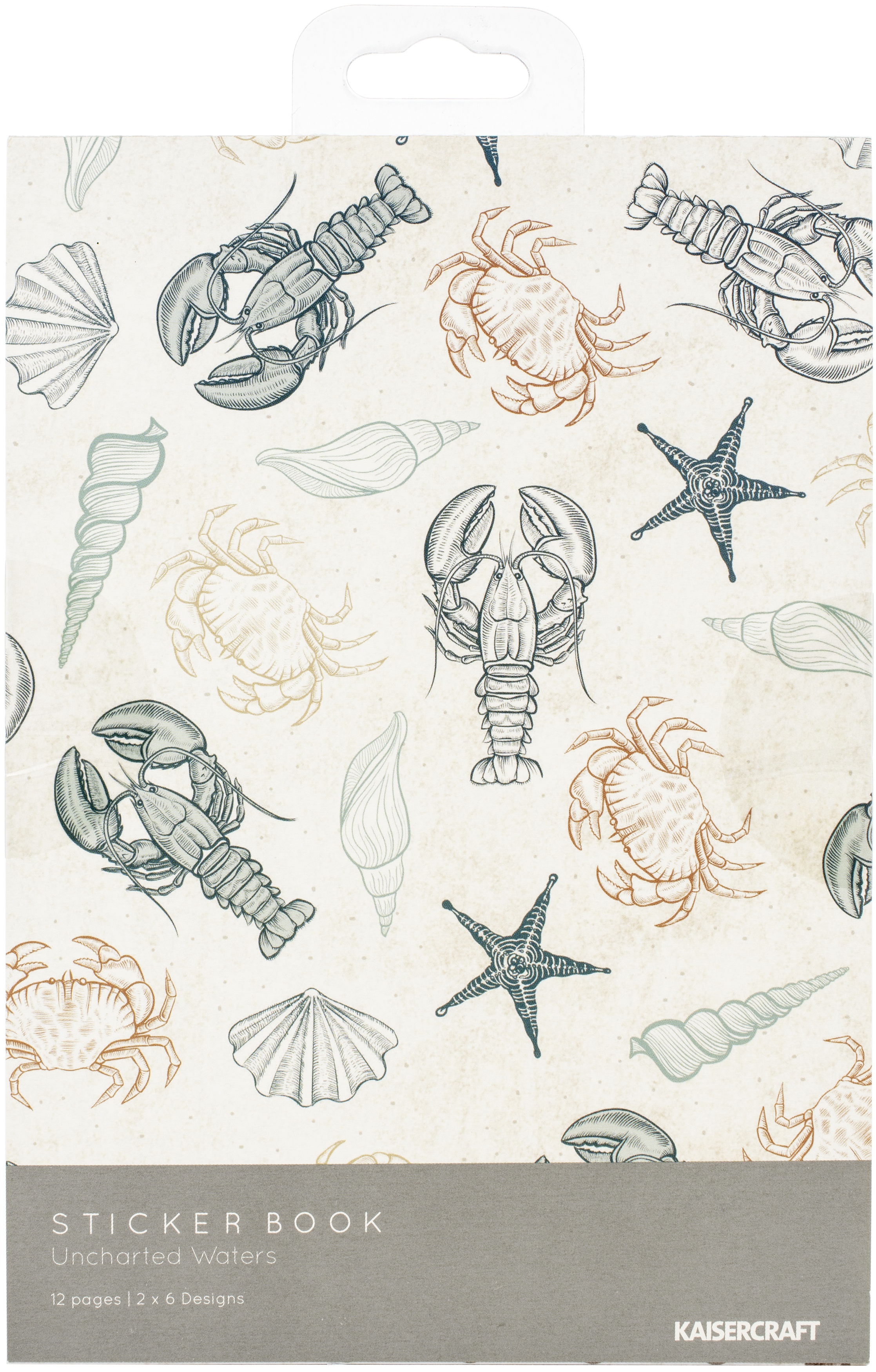 Kaisercraft Uncharted Waters - Sticker Book