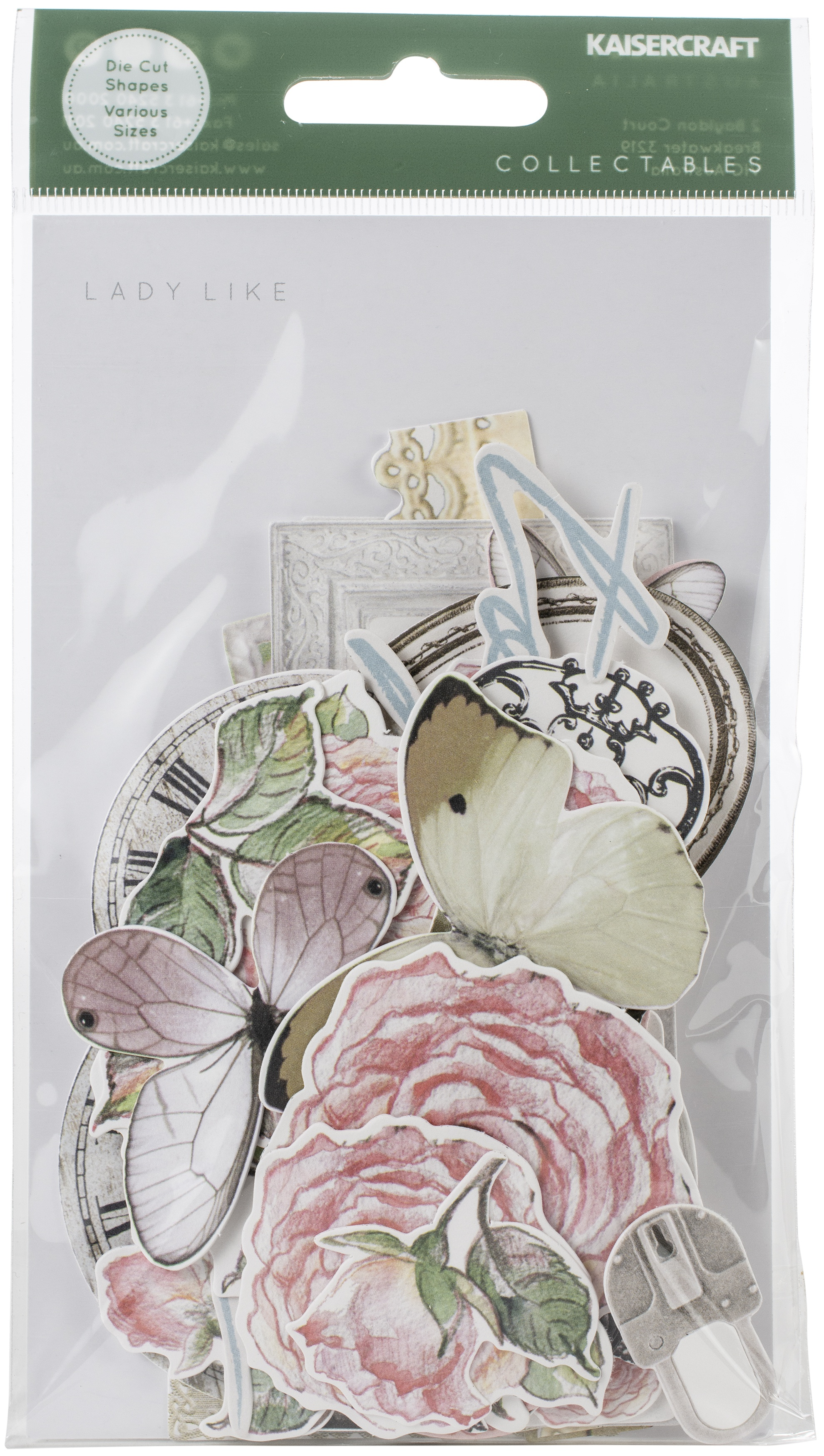 Kaisercraft Collectables Die-Cuts-Lady Like