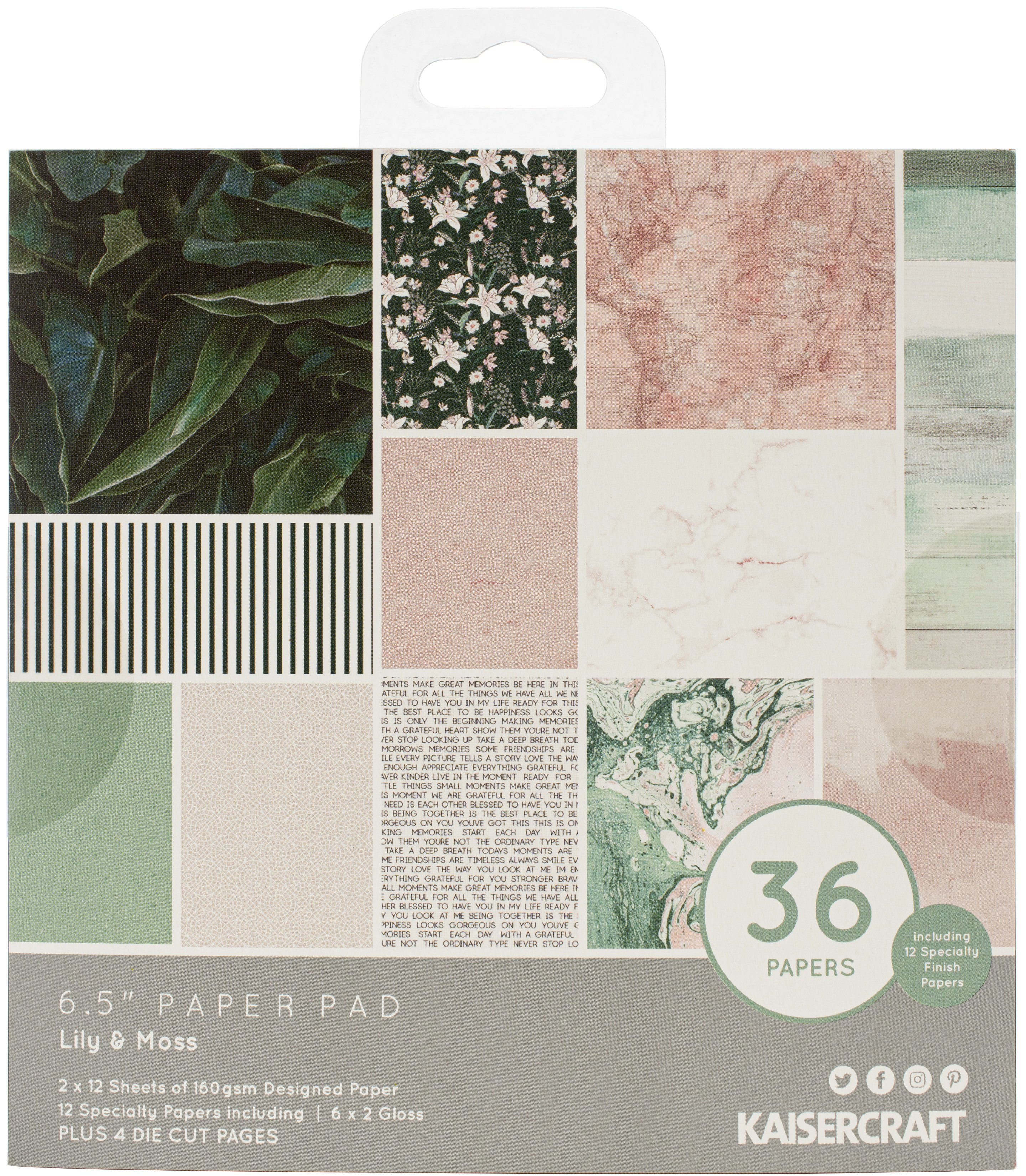 Lily & Moss Paper Pad 6.5X6.5