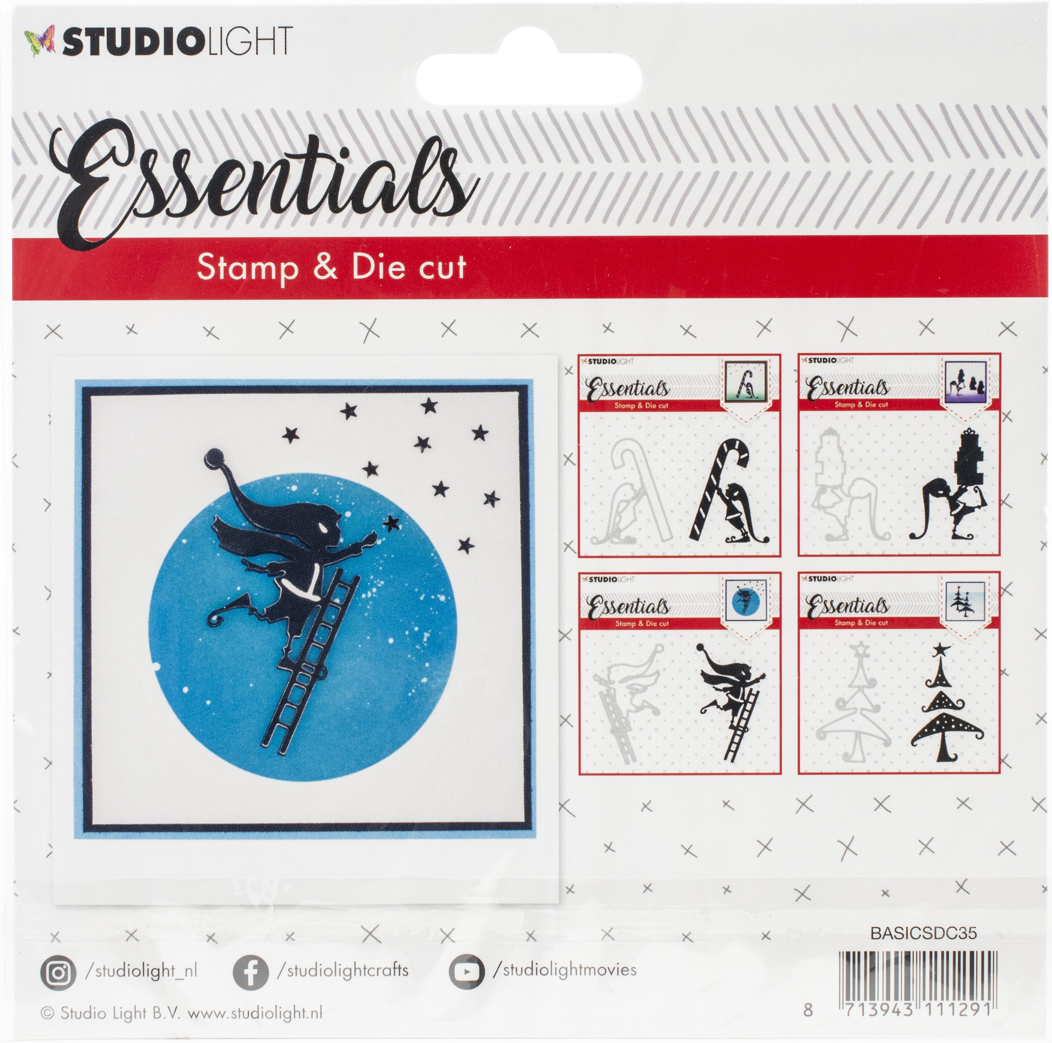 Studio Light #35 Stamp & Die Set