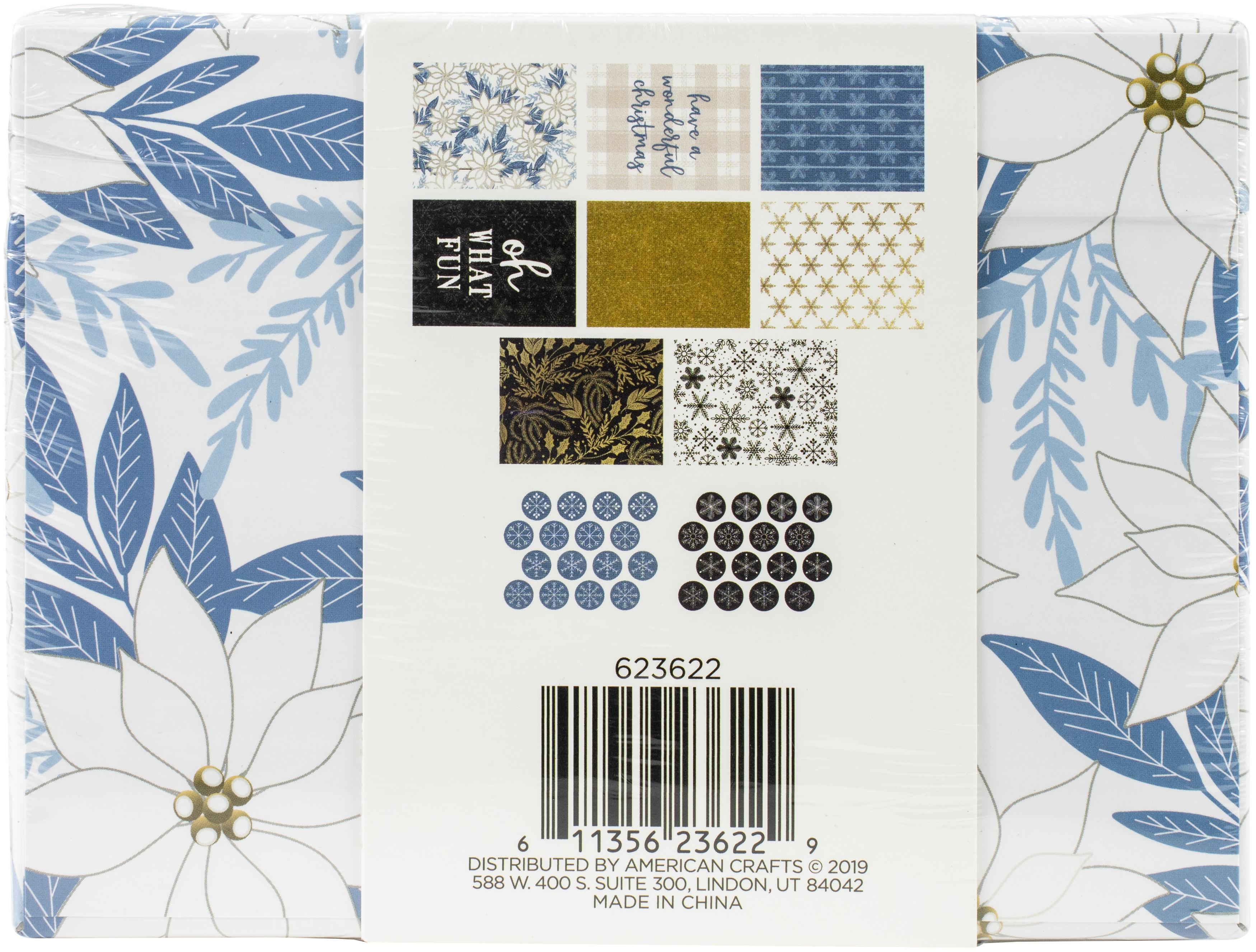 DCWV Boxed A2 Cards W/Envelopes (4.375X5.75) 32/Pkg-Winter Wonderland