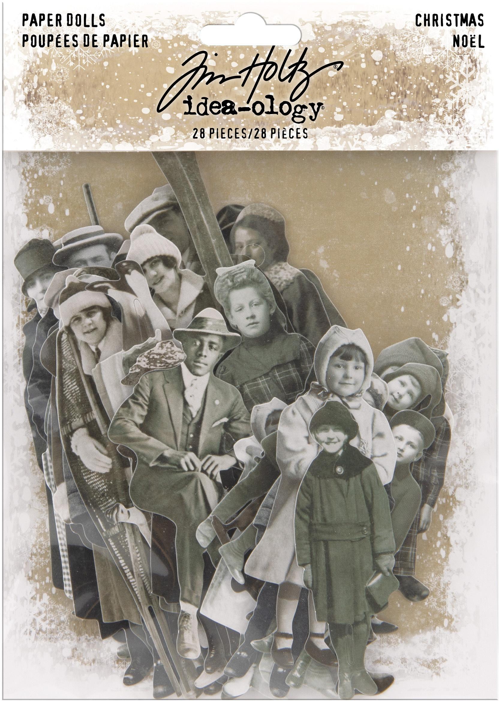 Tim Holtz Idea-ology - Christmas Paper Dolls