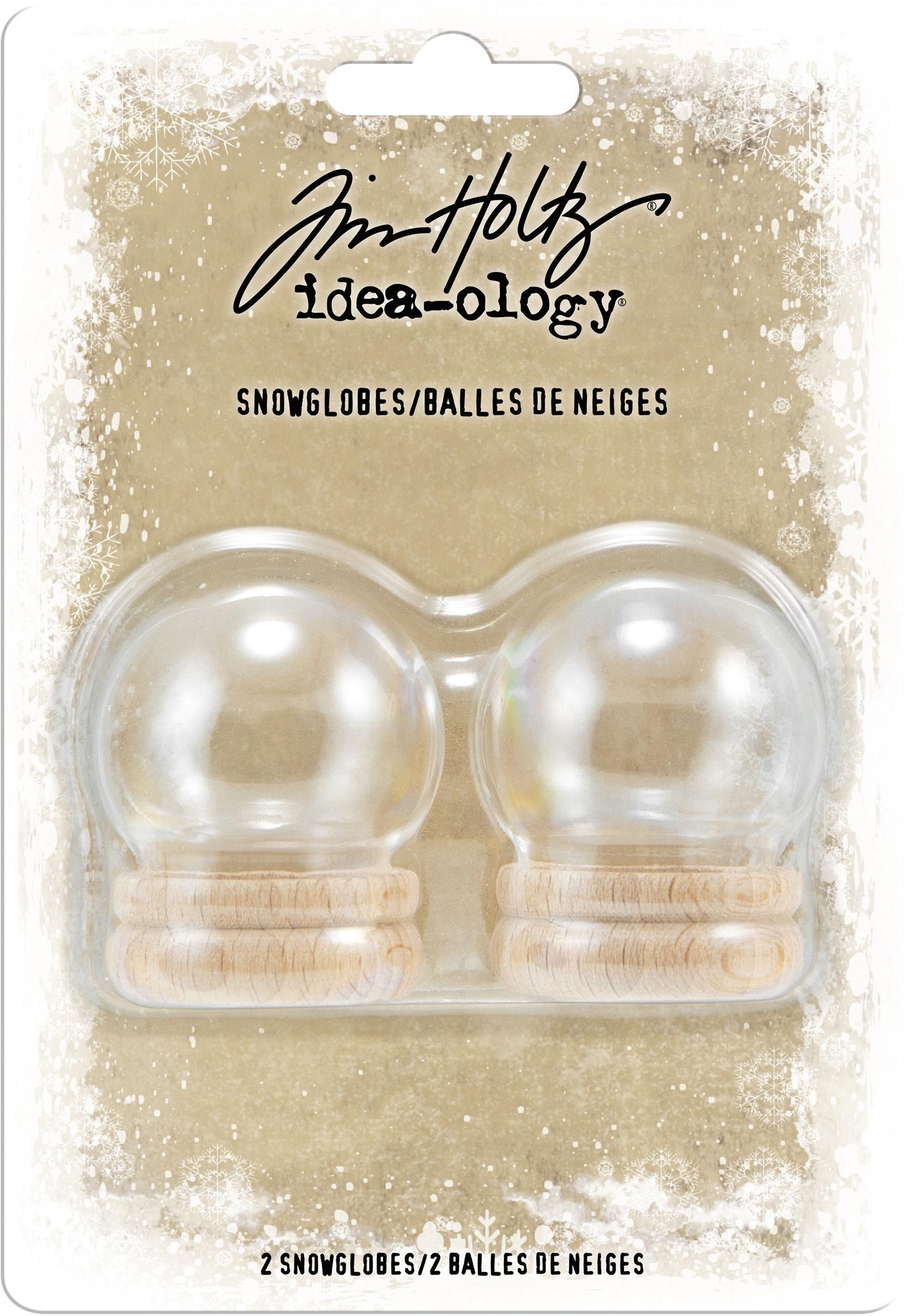 Idea-Ology Snowglobes 1.5 2/Pkg-