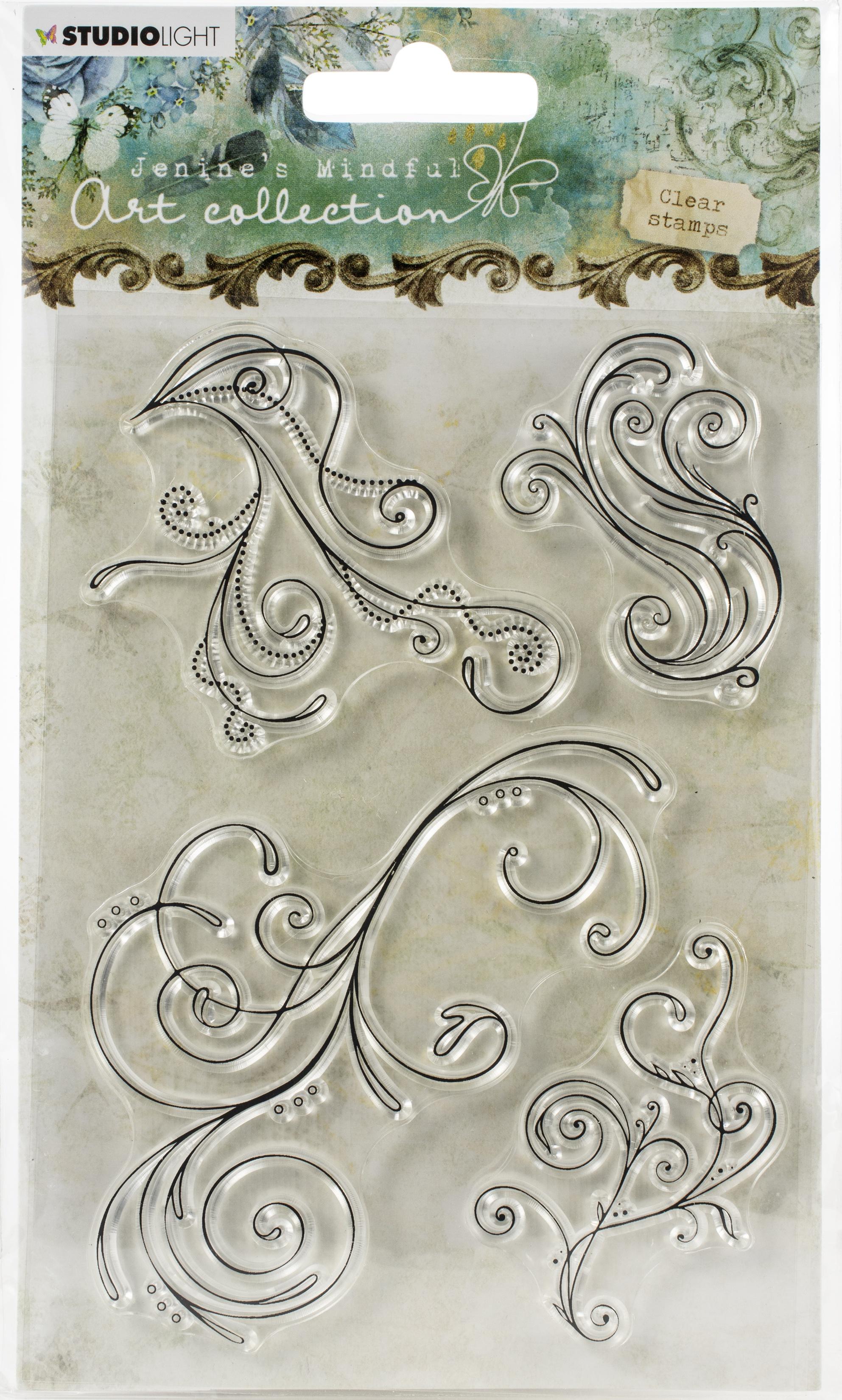 Jenine's Mindful Art Clear Stamp Set #02