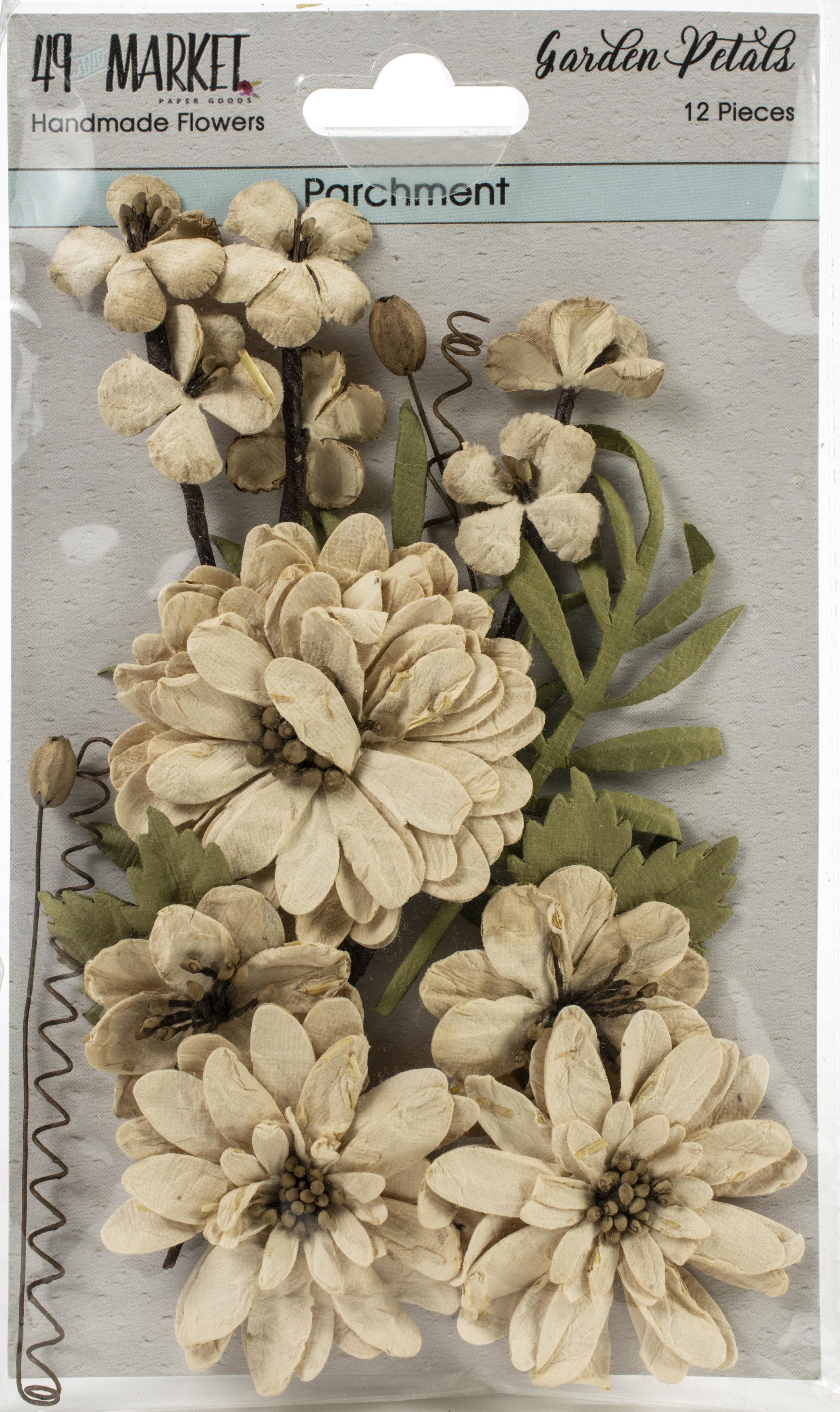 49 And Market Garden Petals 12/Pkg-Parchment