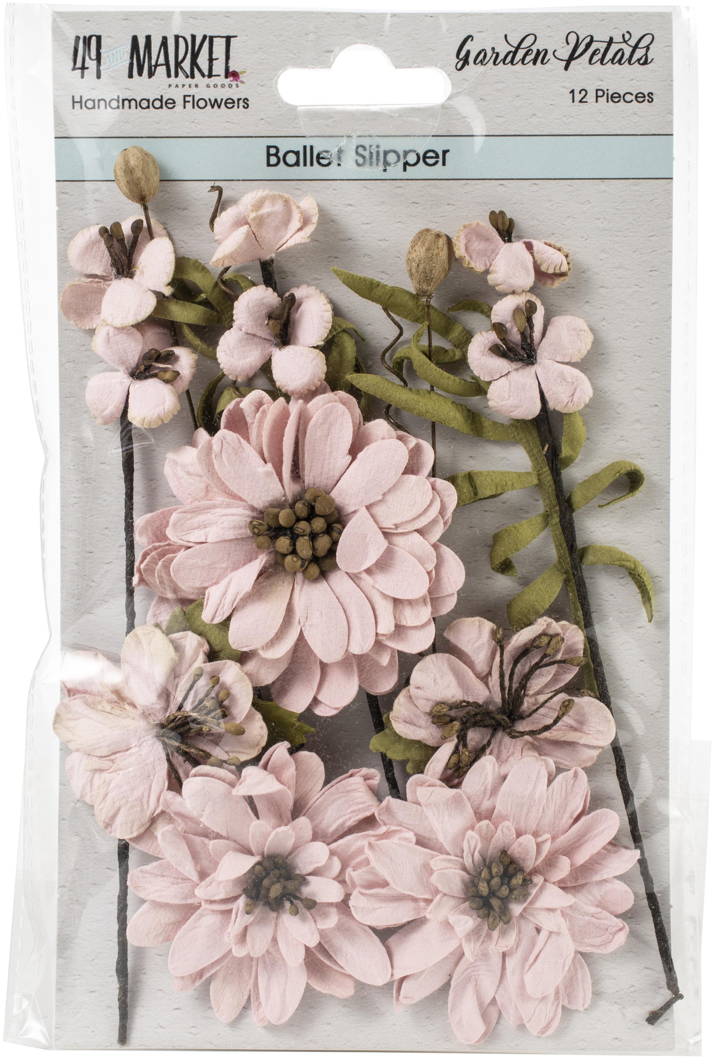49 & Market garden petals ballet slipper