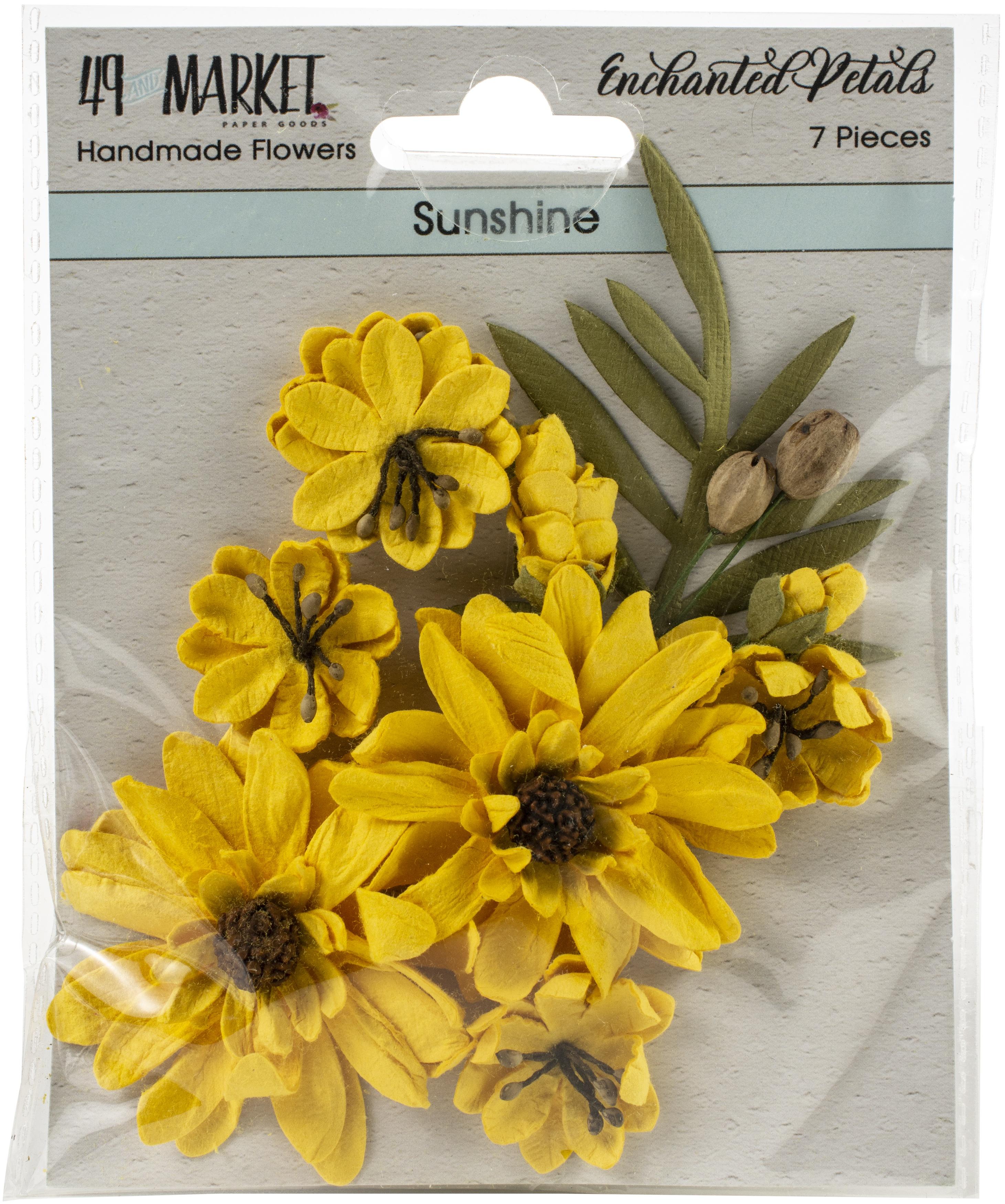 49 And Market Enchanted Petals - Sunshine