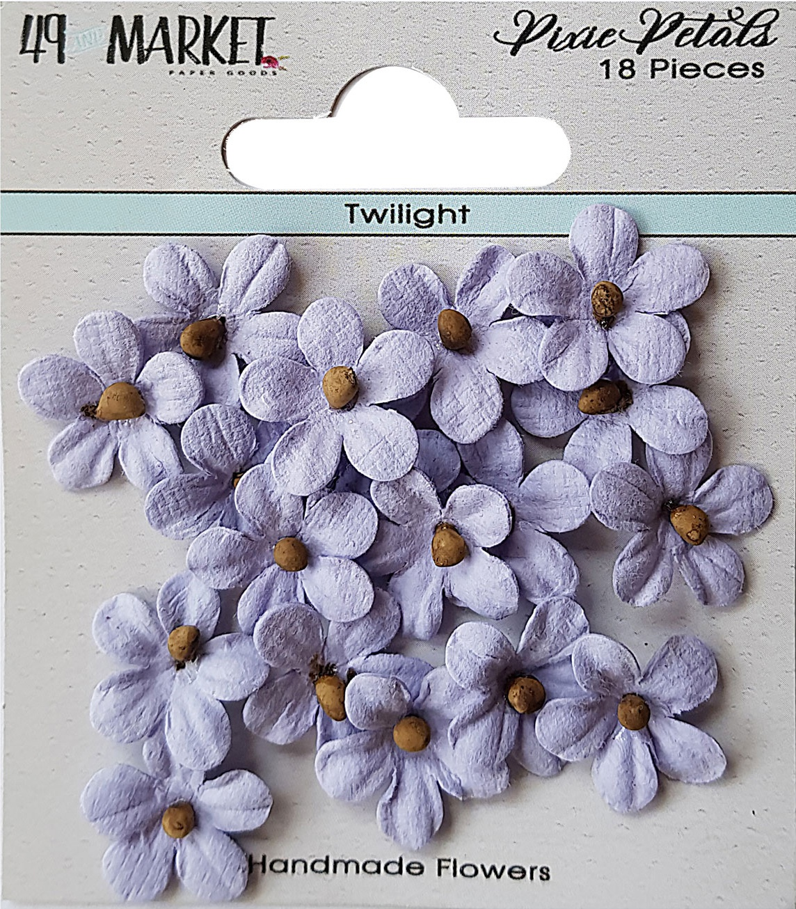 49 And Market Pixie Petals 18/Pkg-Twilight