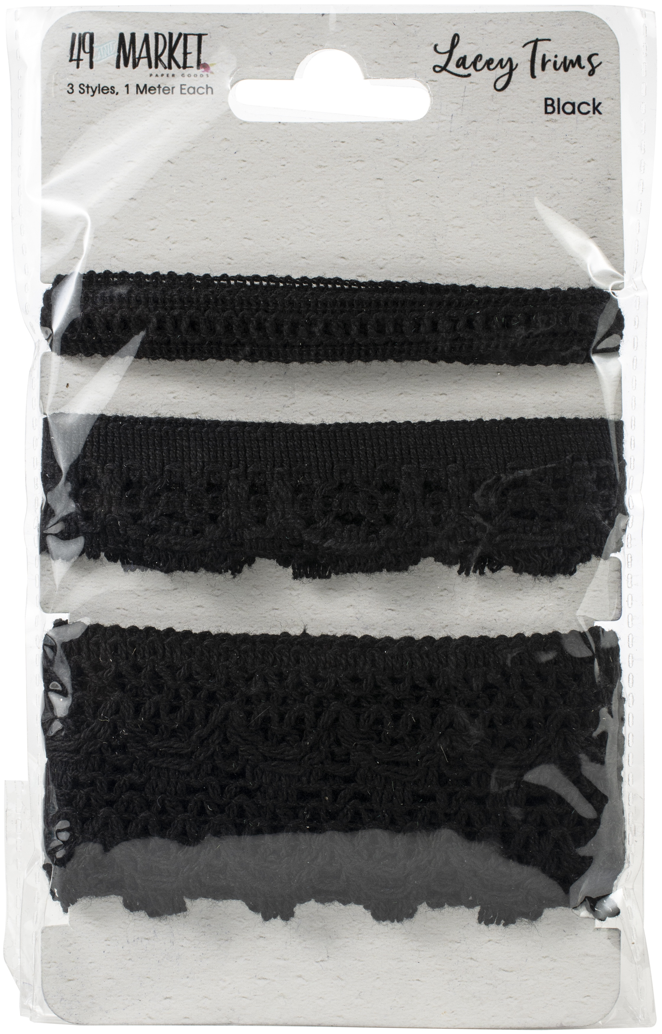 49 And Market Lacey Trims-Black