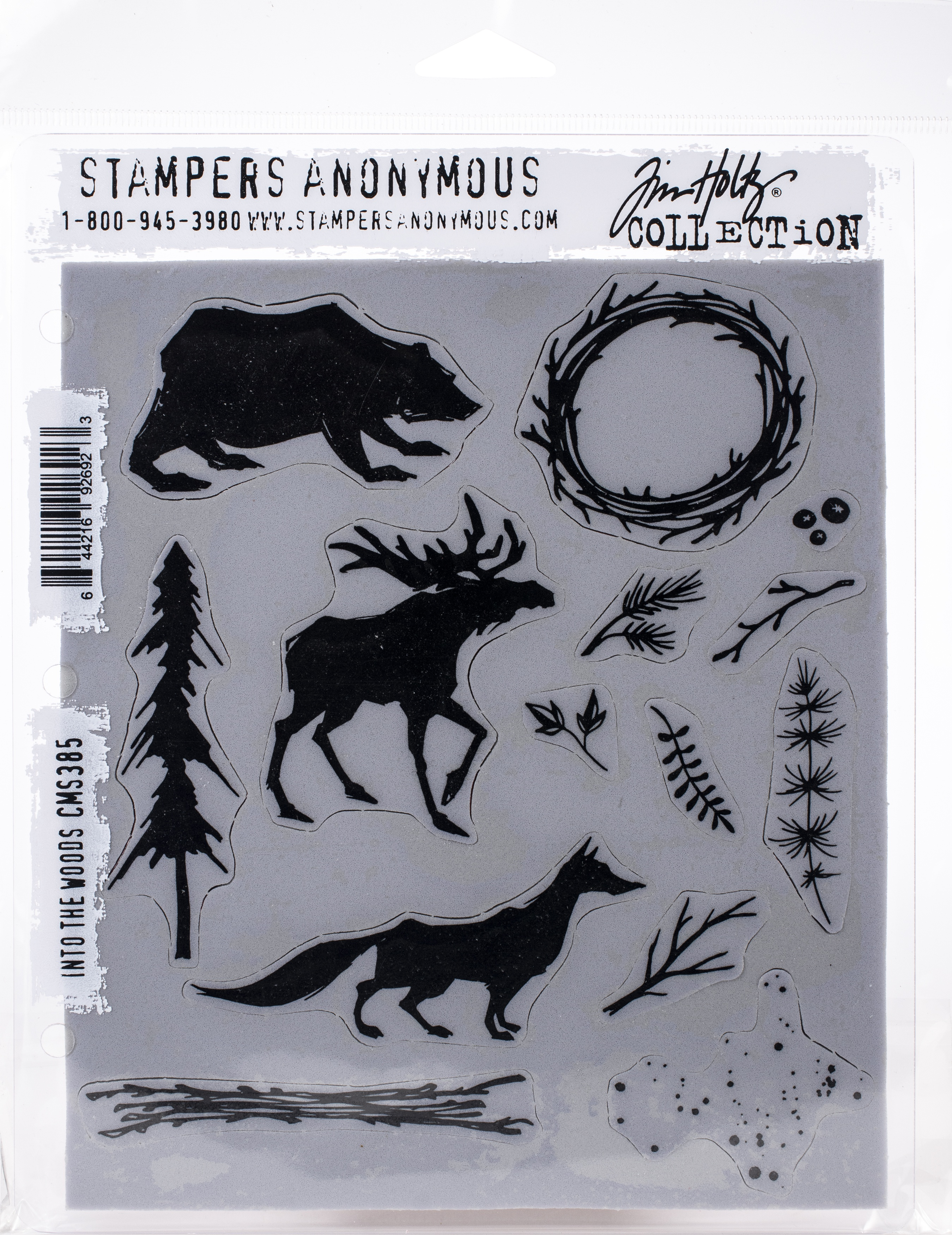 TH Cling Stamp - Into The Woods