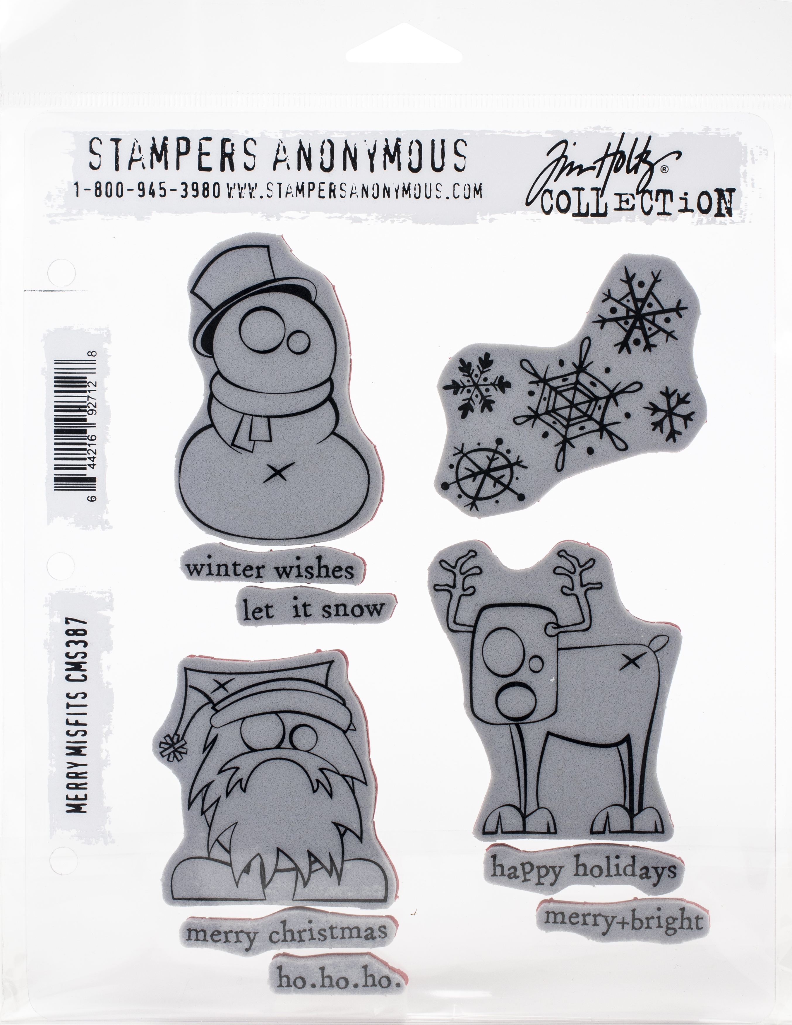 TH Cling Stamp - Merry Misfits