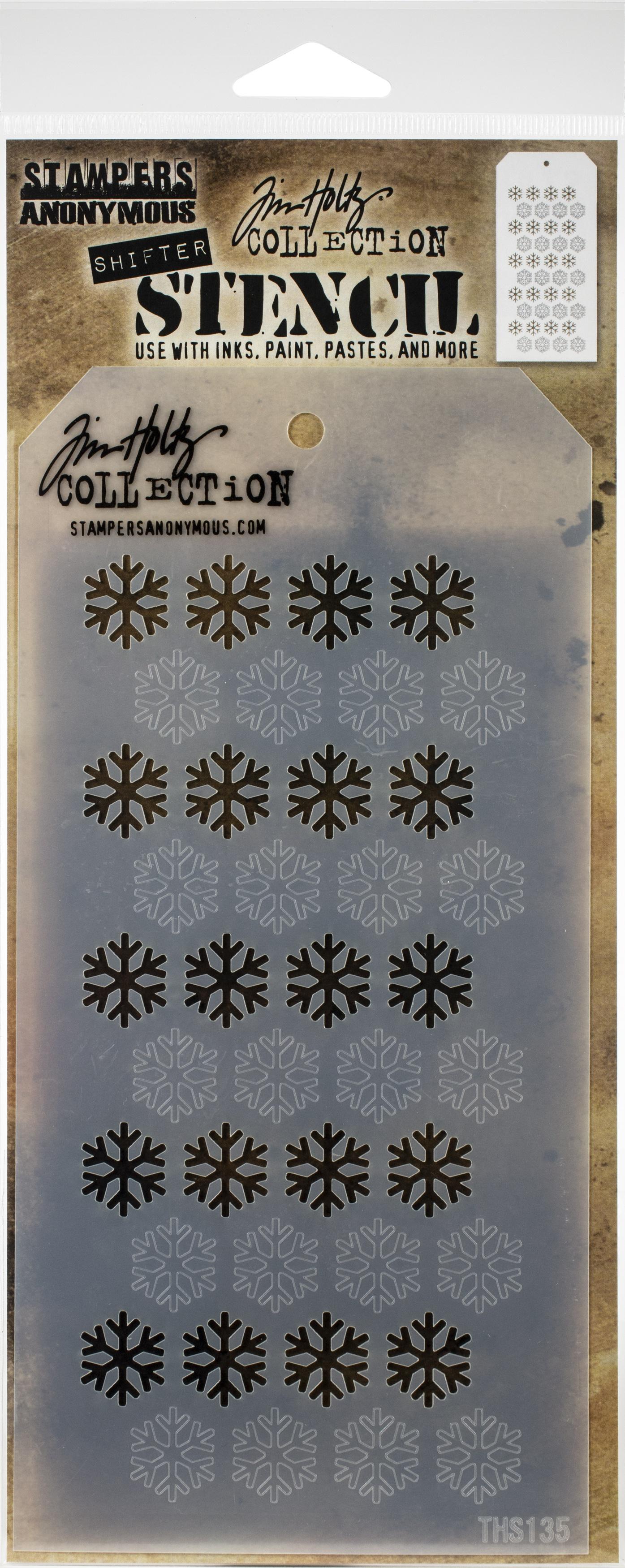 Layering Stencil Shifter Snowflake