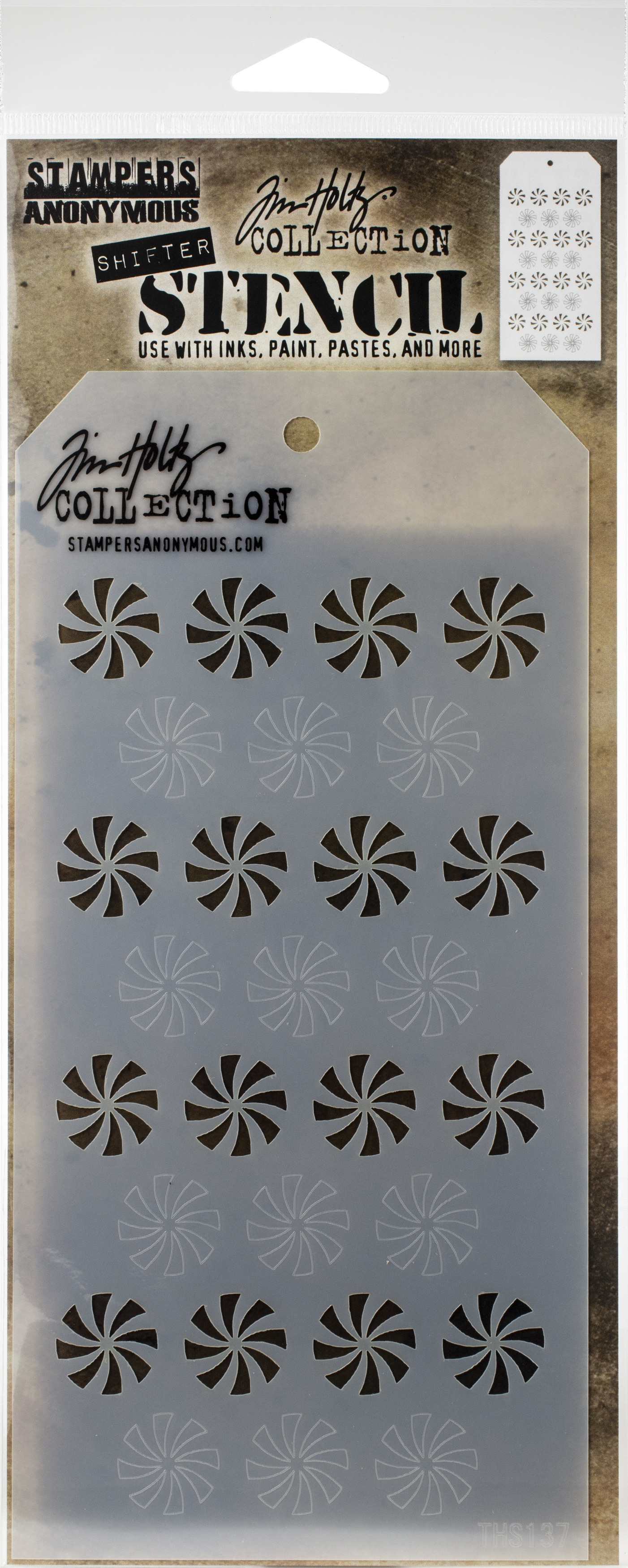 Layering Stencil Shifter Peppermint
