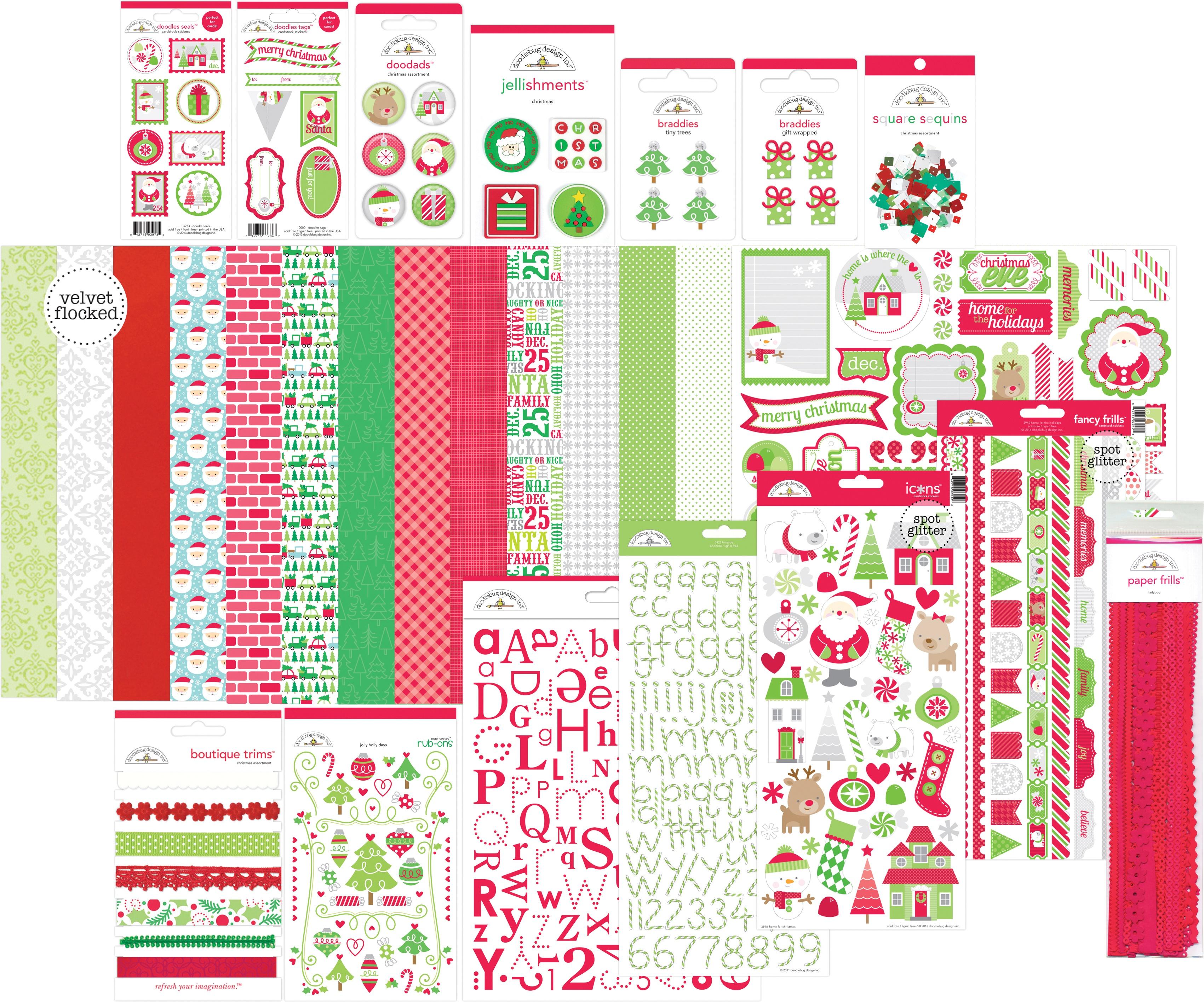 Doodlebug Value Bundle-Christmas Traditions