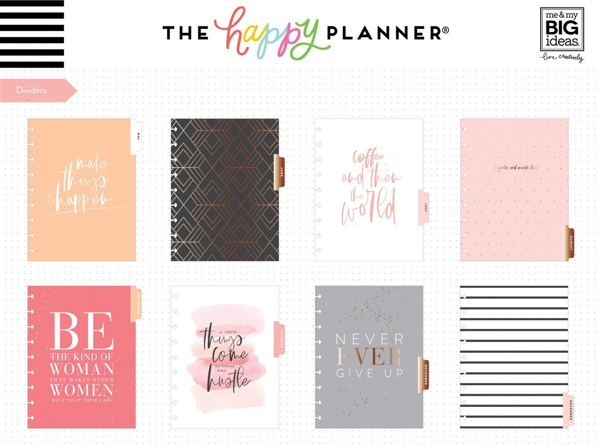 Happy Planner 12-Month Dated Classic Planner 9.25X7-Biz Babe, Jan - Dec 2020
