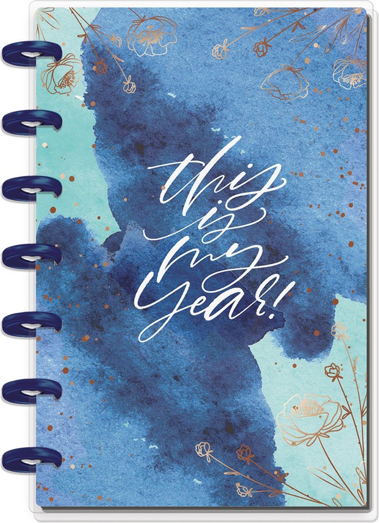 Happy Planner 12-Month Dated Mini Planner 7X4.625 -Year To Shine, Jan - Dec 20...