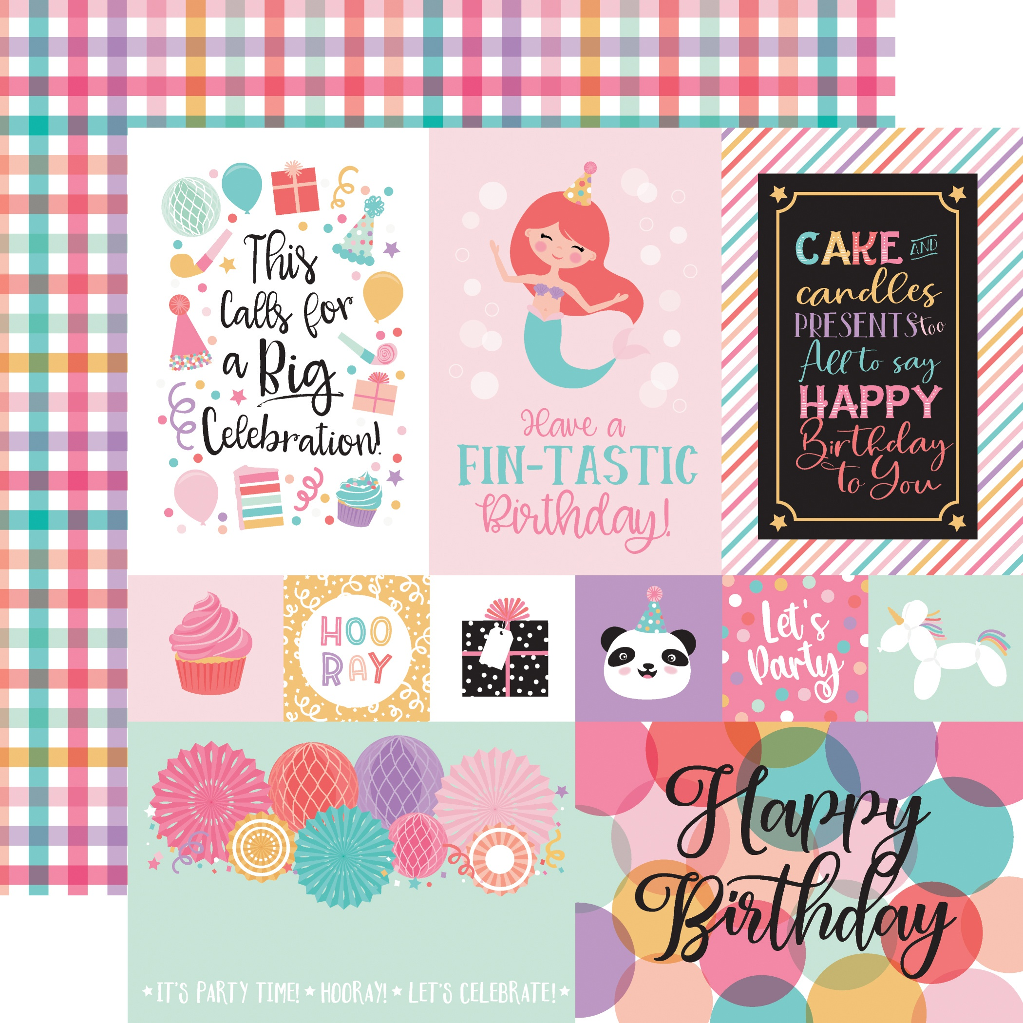 EP It's Your Birthday Girl Multi Journaling Cards