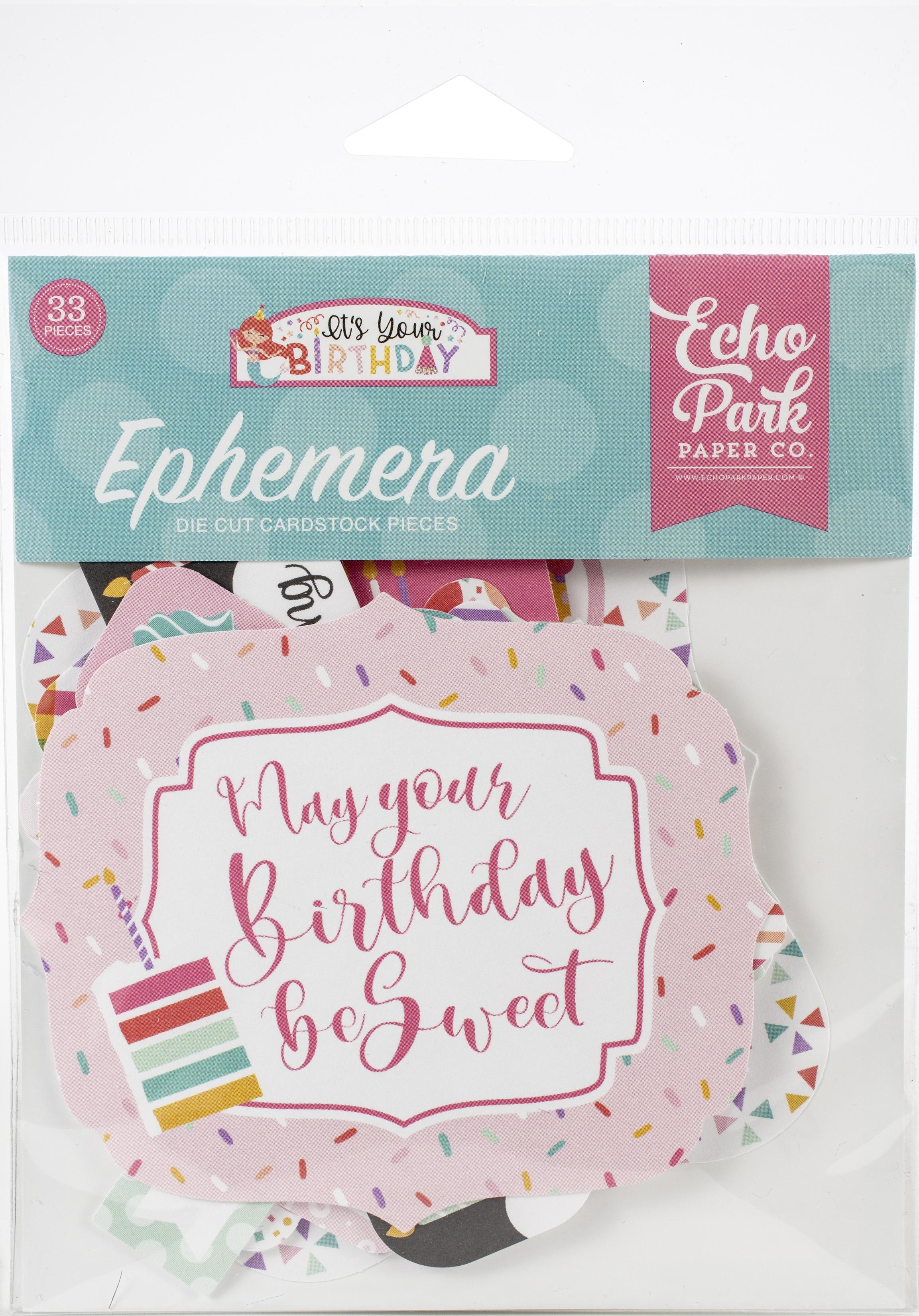 It's Your Birthday Girl- Ephemera