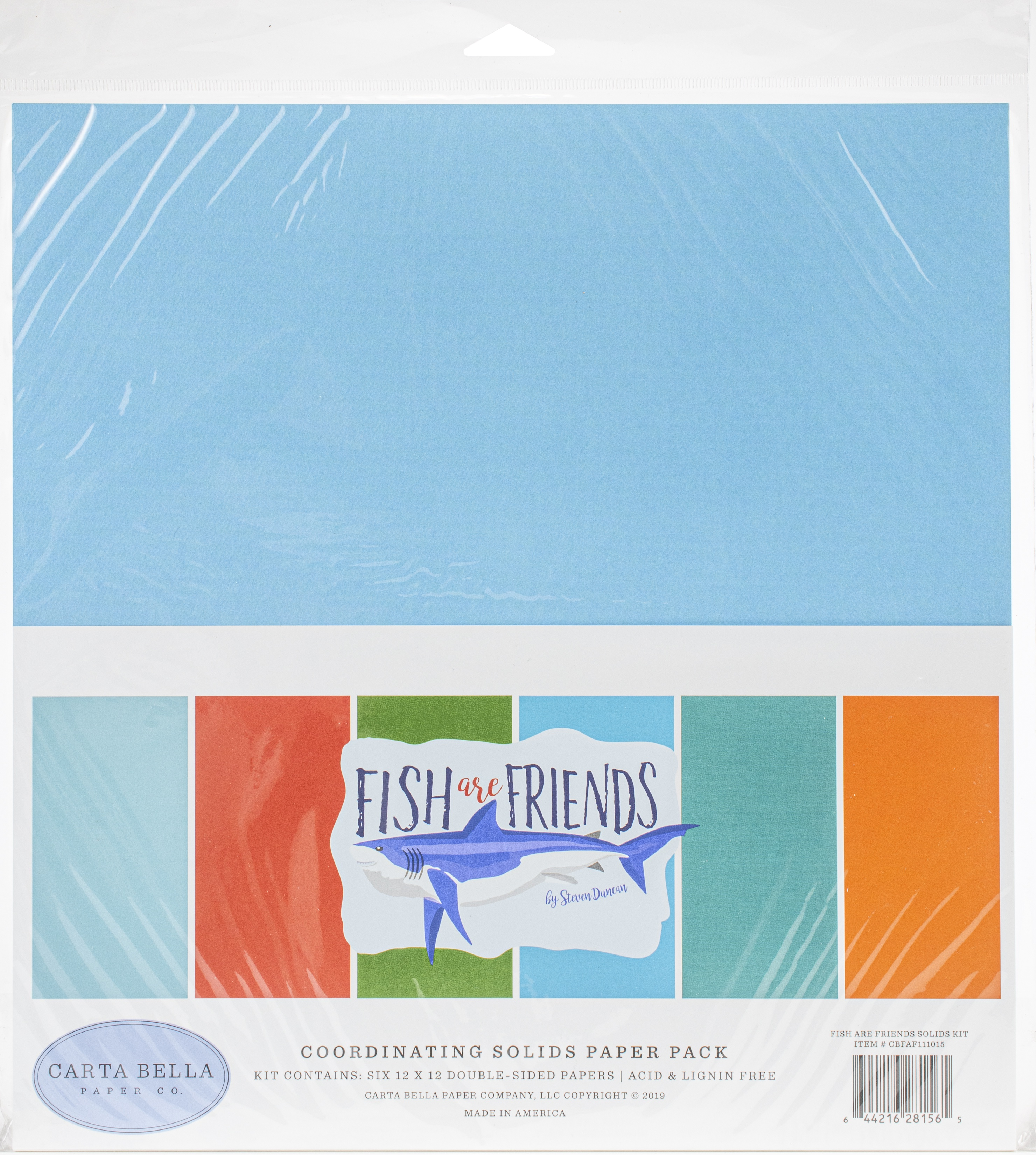 Fish Are Friends Solids Paper Pack