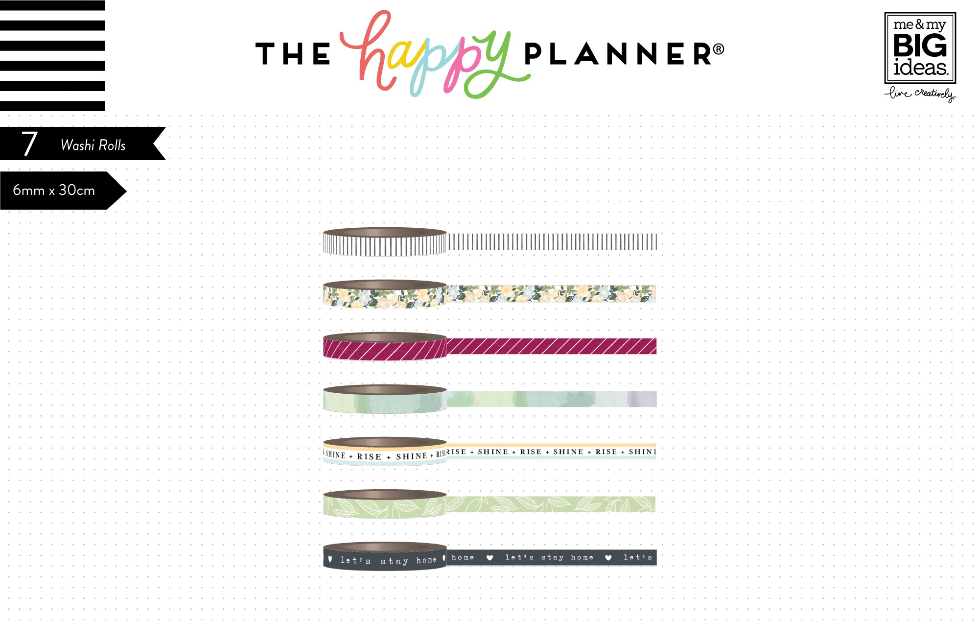 Happy Planner Homebody Washi Tape