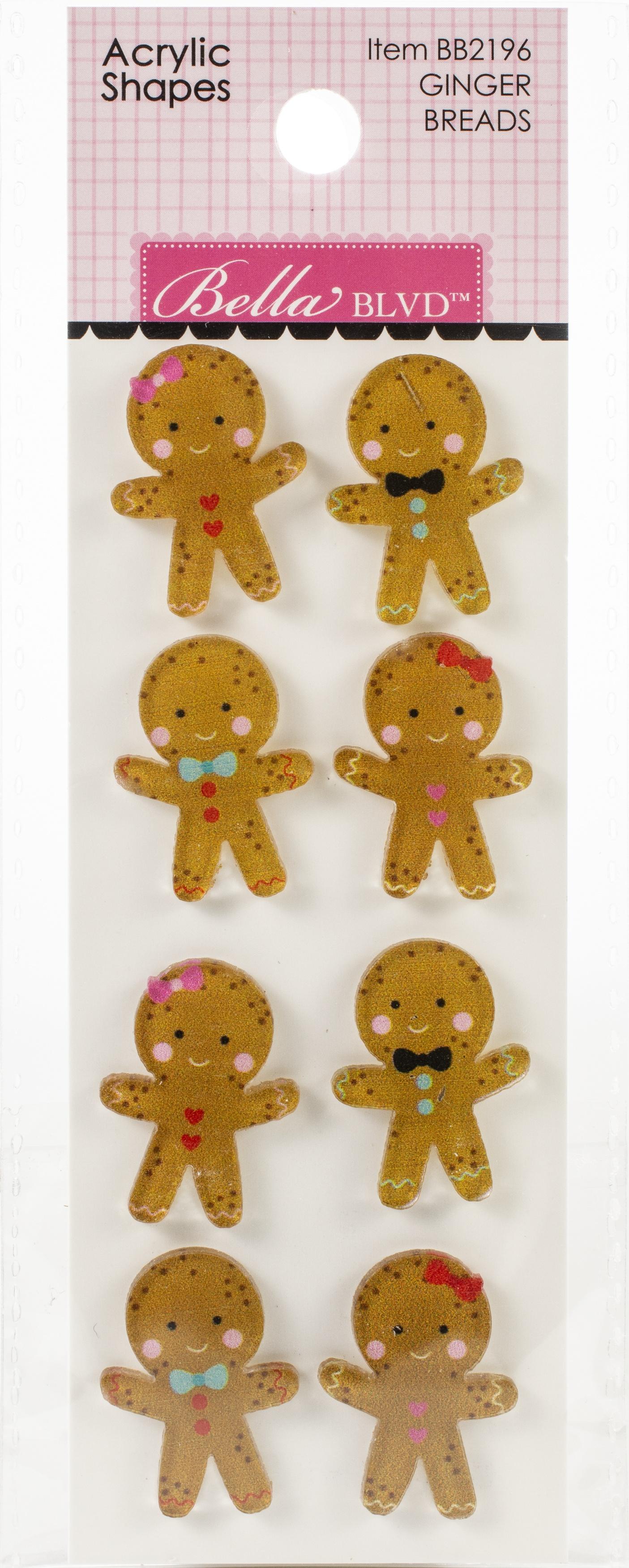 DB Embellishments Ginger Bread Shapes