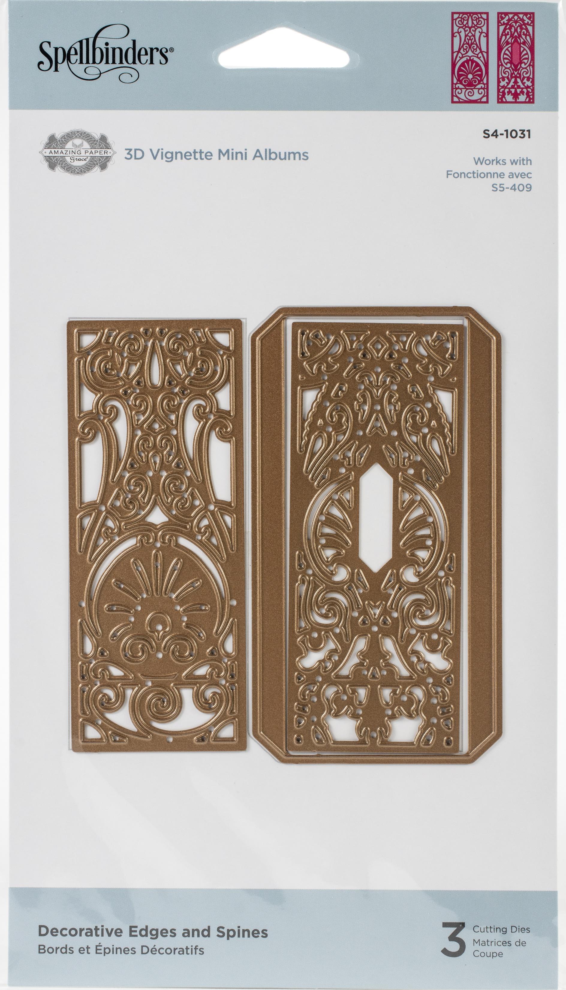 Shapeabilites decorative edges dies