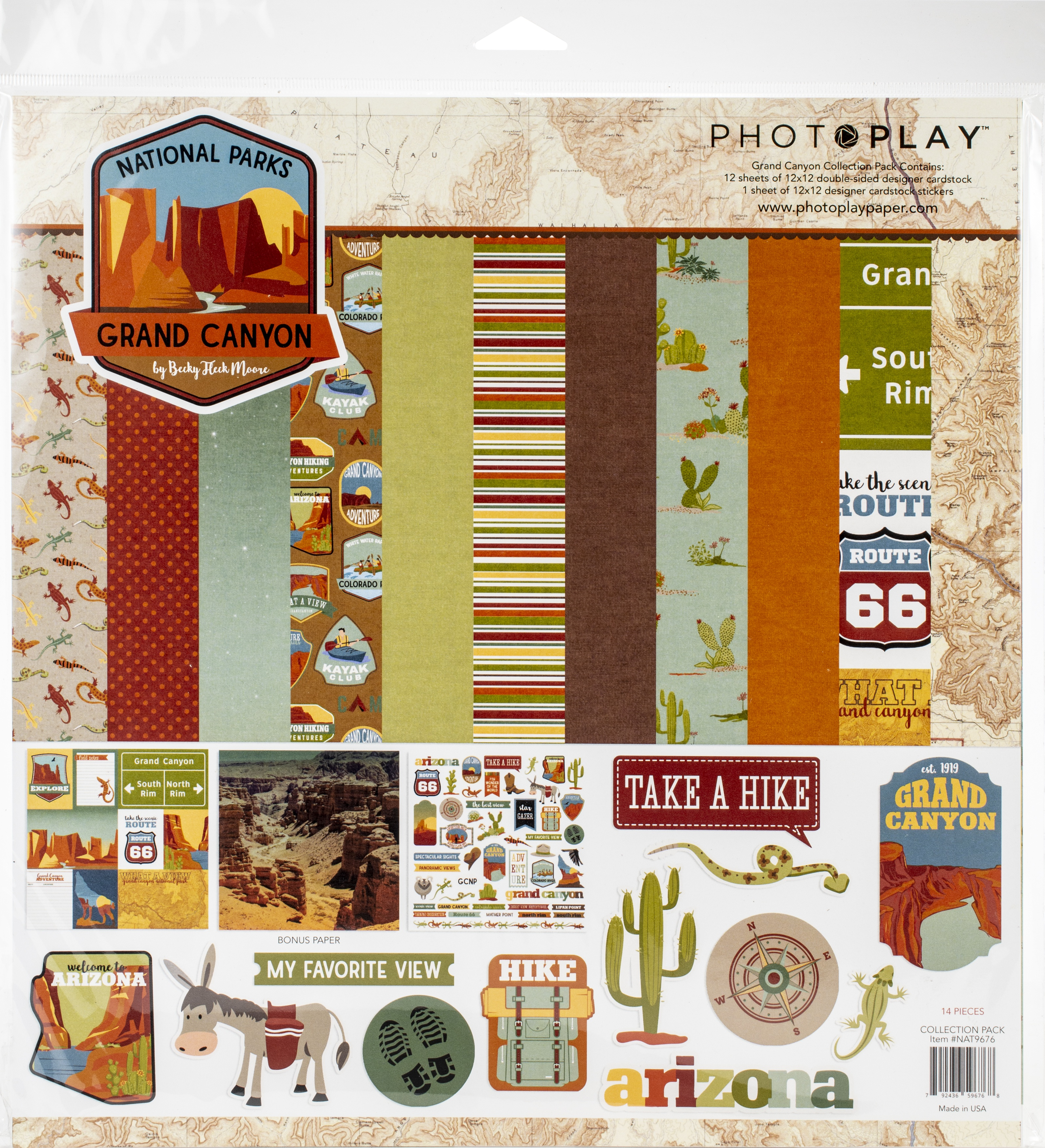 PhotoPlay Collection Pack 12X12-National Parks Grand Canyon