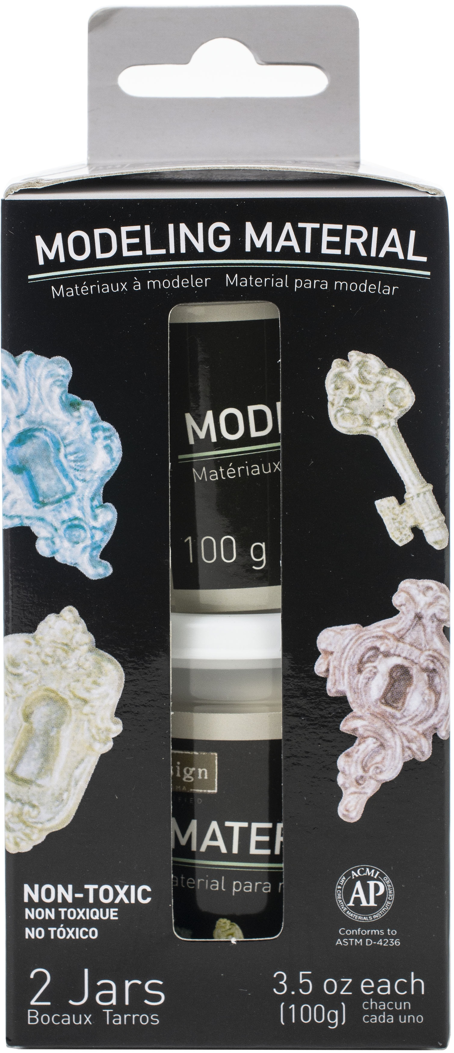 Prima Marketing Re-Design Air Dry Modeling Material 2/Pkg-3.5oz Each