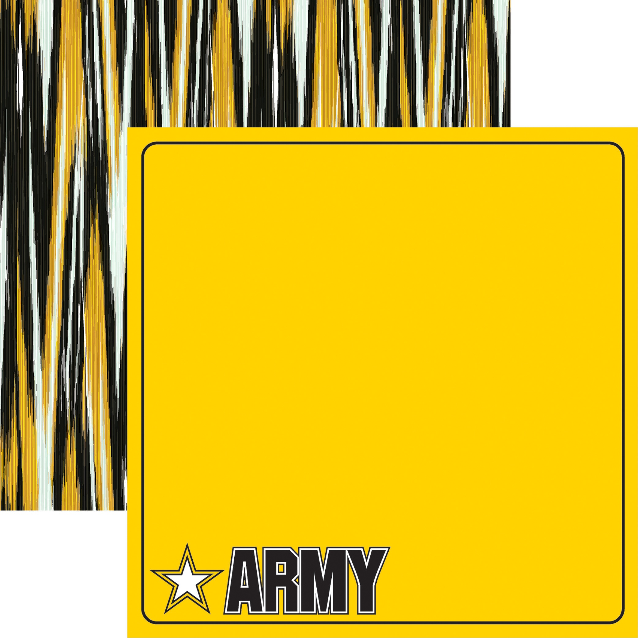 Army Double-Sided Cardstock 12X12-Army
