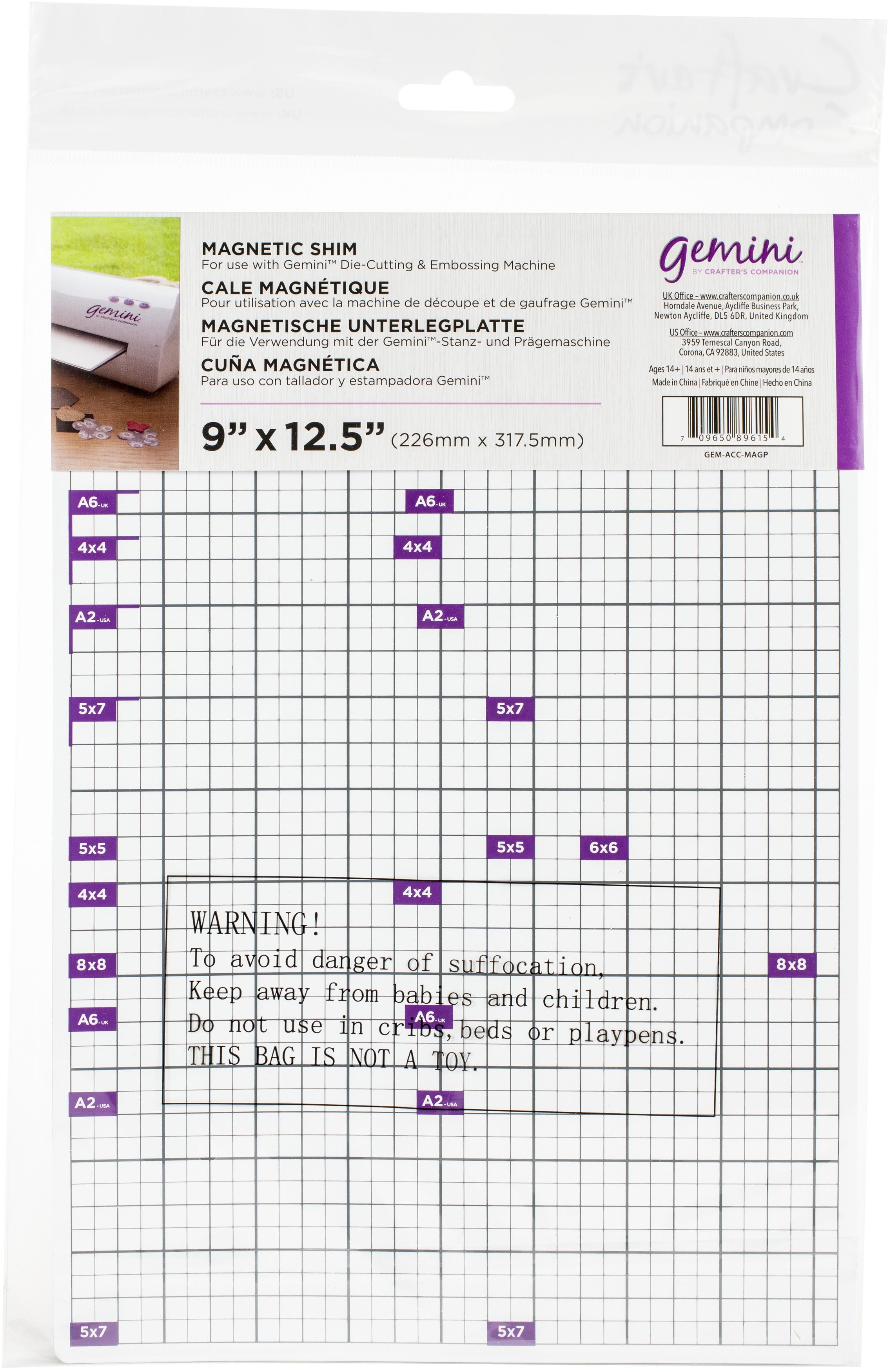 Crafter's Companion Gemini Magnetic Shim 9'x12.5'