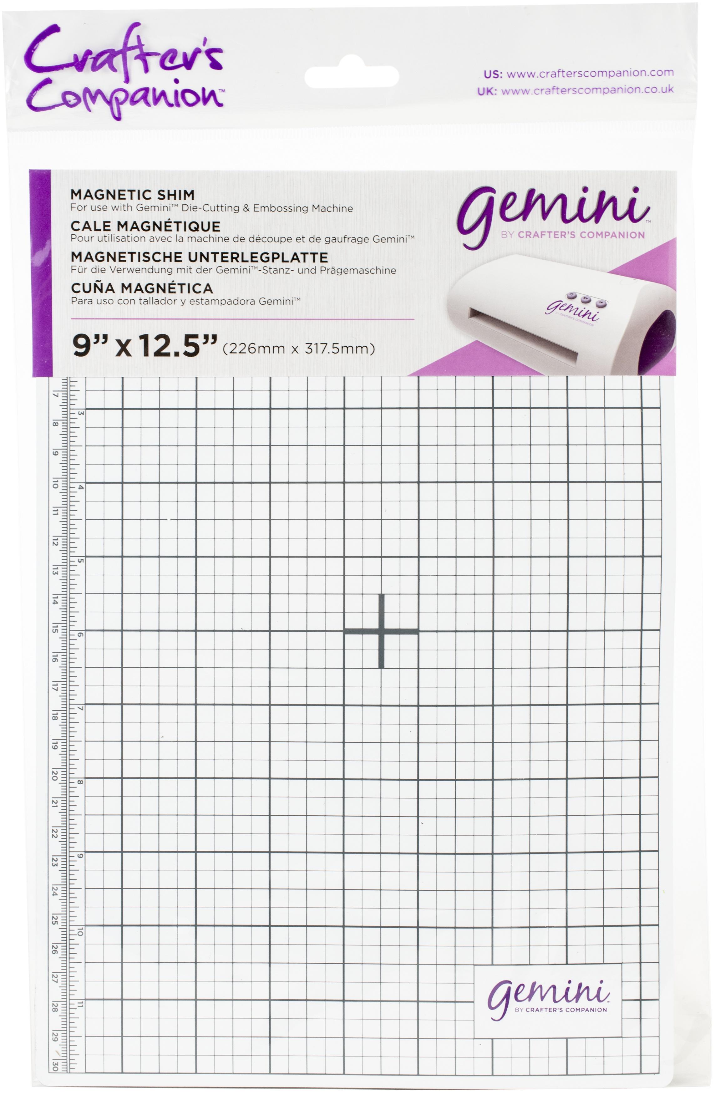 Crafter's Companion Gemini Magnetic Shim 9X12.5-