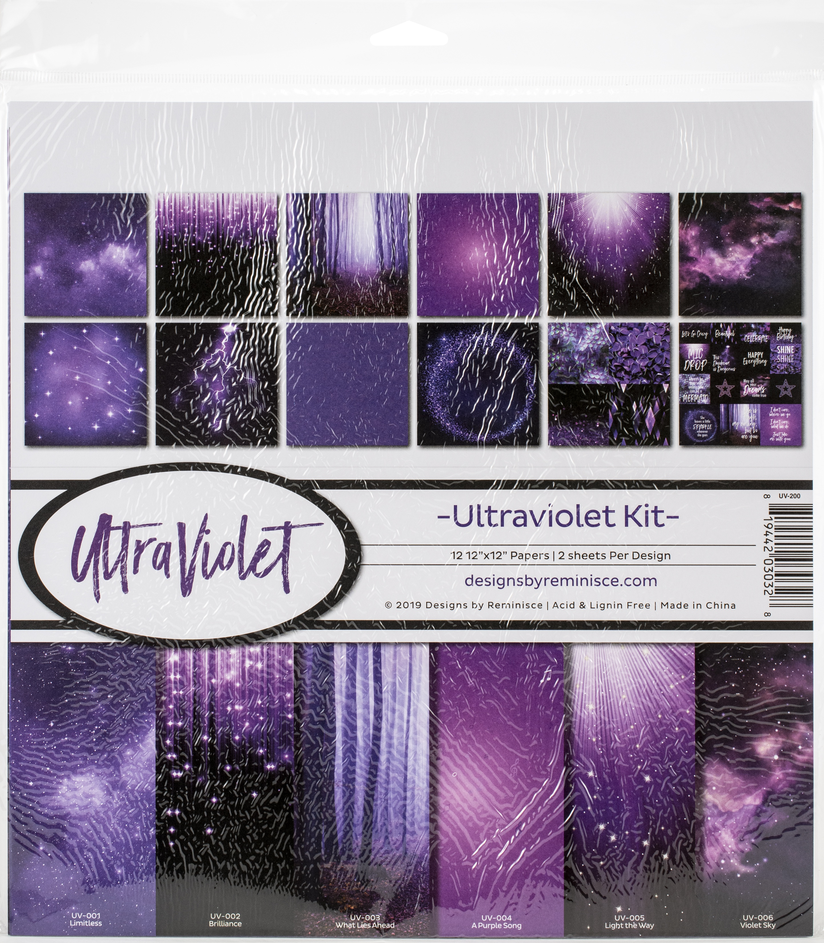 Ultraviolet Collection Kit 12X12