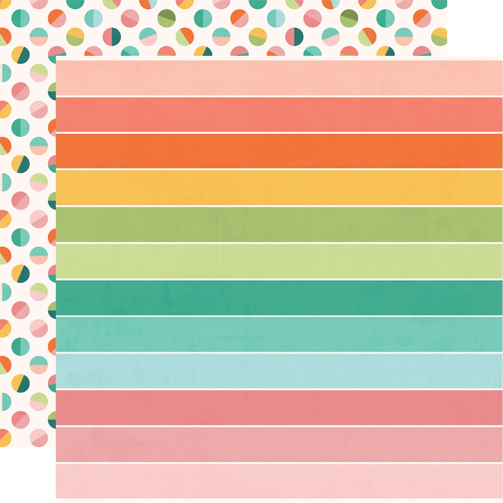 Hey, Crafty Girl Double-Sided Cardstock 12X12-Crafty & Happy