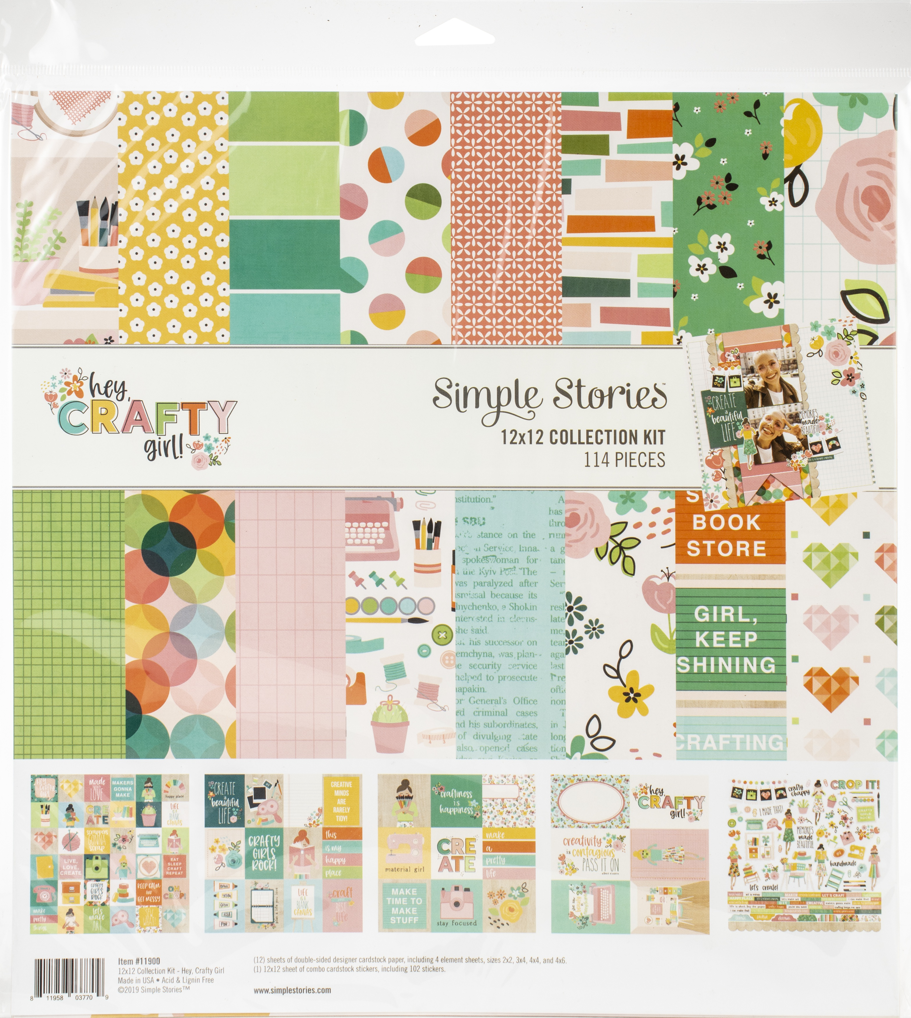 Hey, Crafty Girl Collection