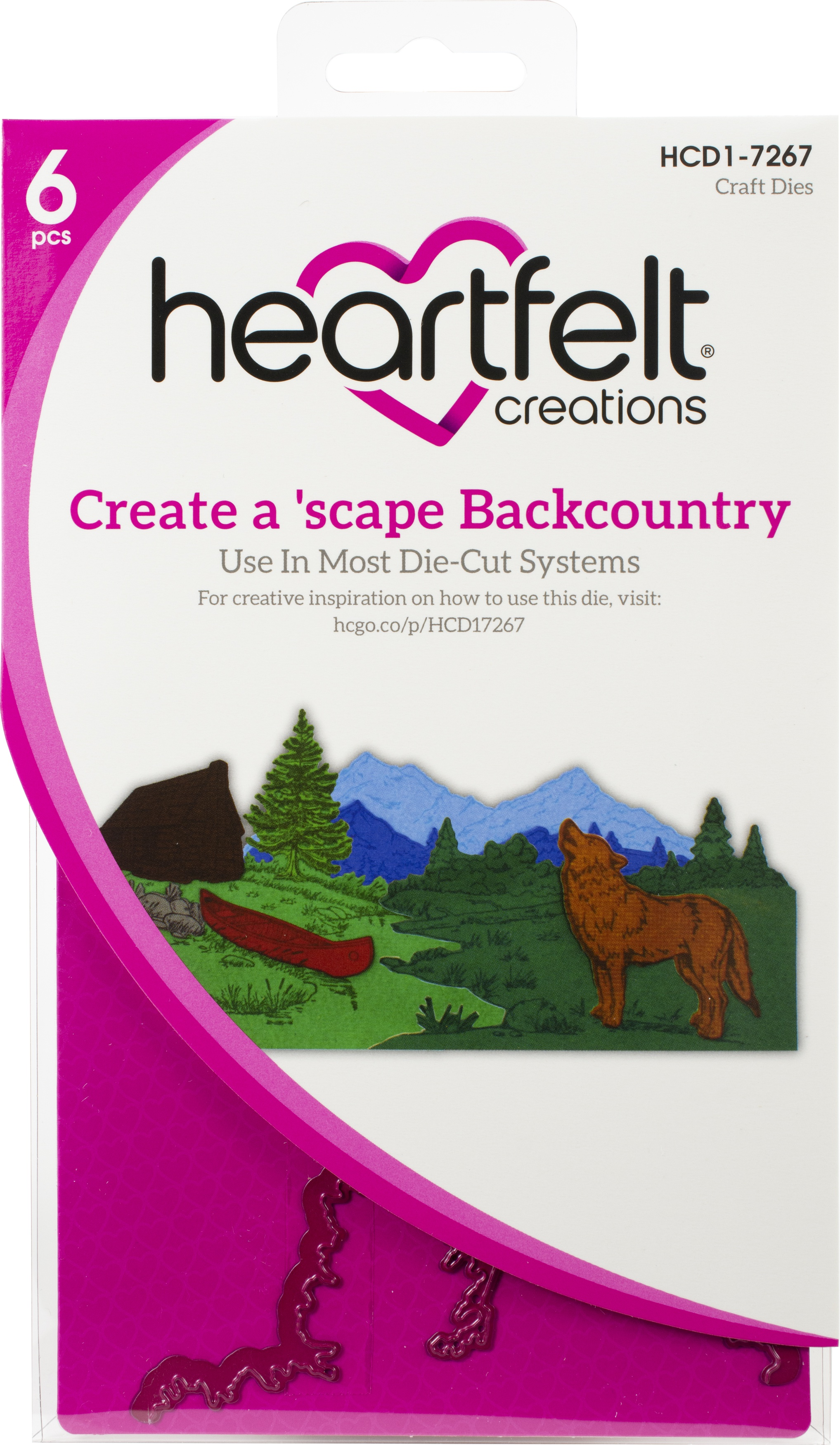 Create a'scape Backcountry Die