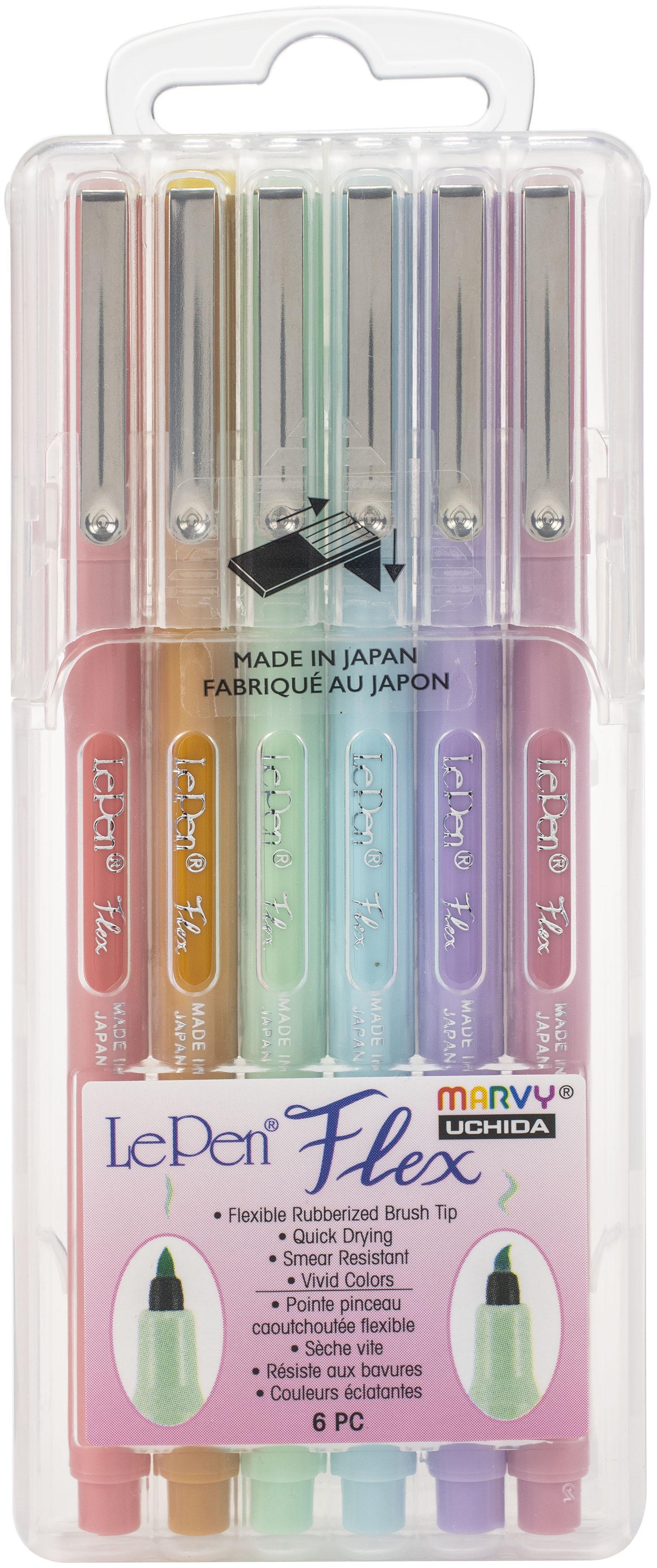 LePen Flex Set 6/Pkg-Pastel Colors