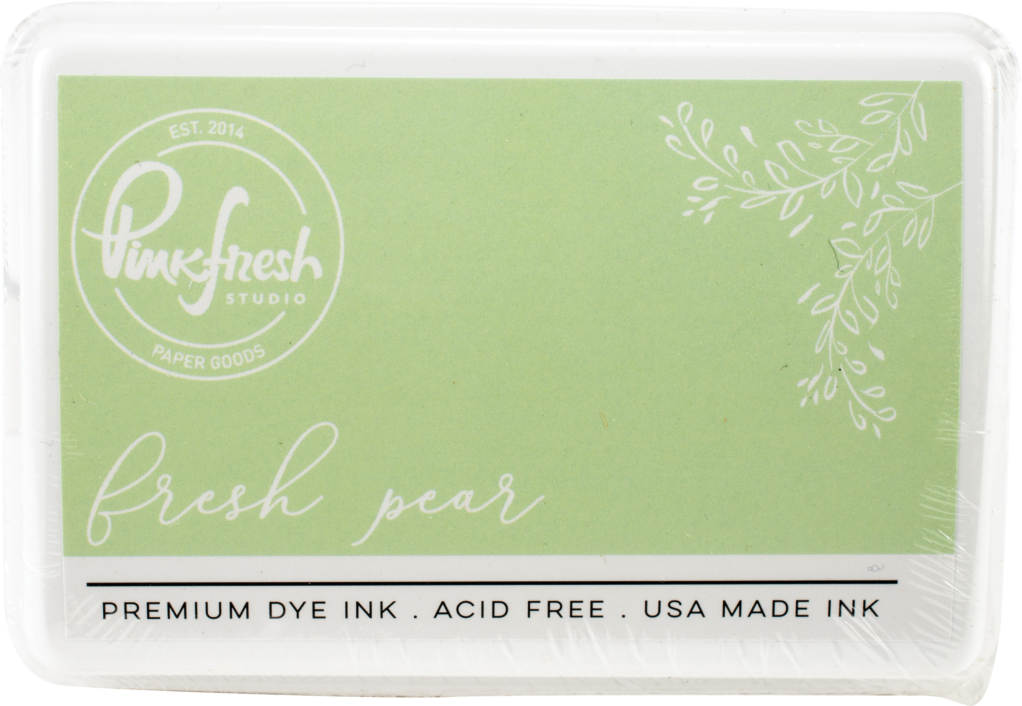 PinkFresh - Premium Dye Ink Pad - Fresh Pear
