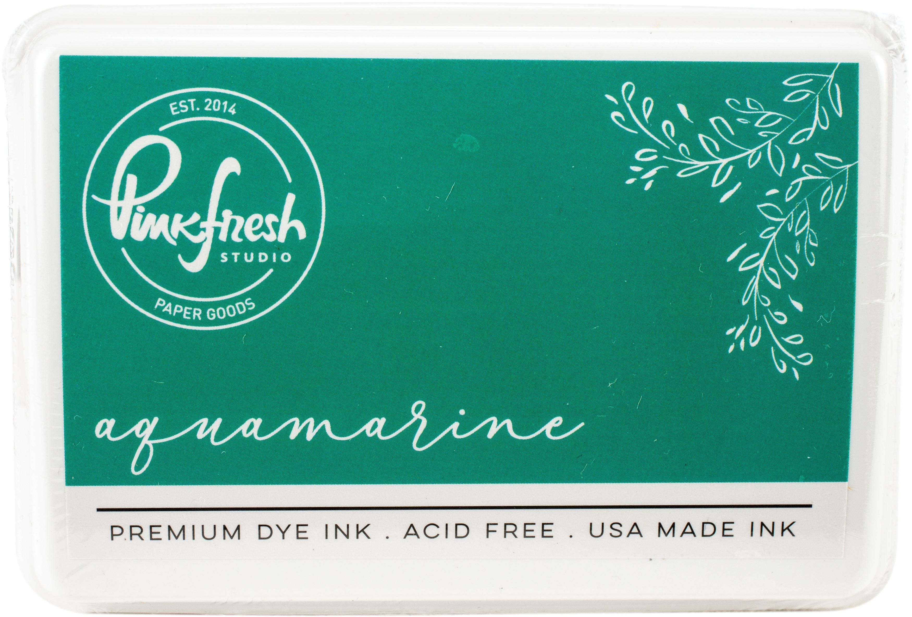 PinkFresh - Premium Dye Ink Pad - Aquamarine