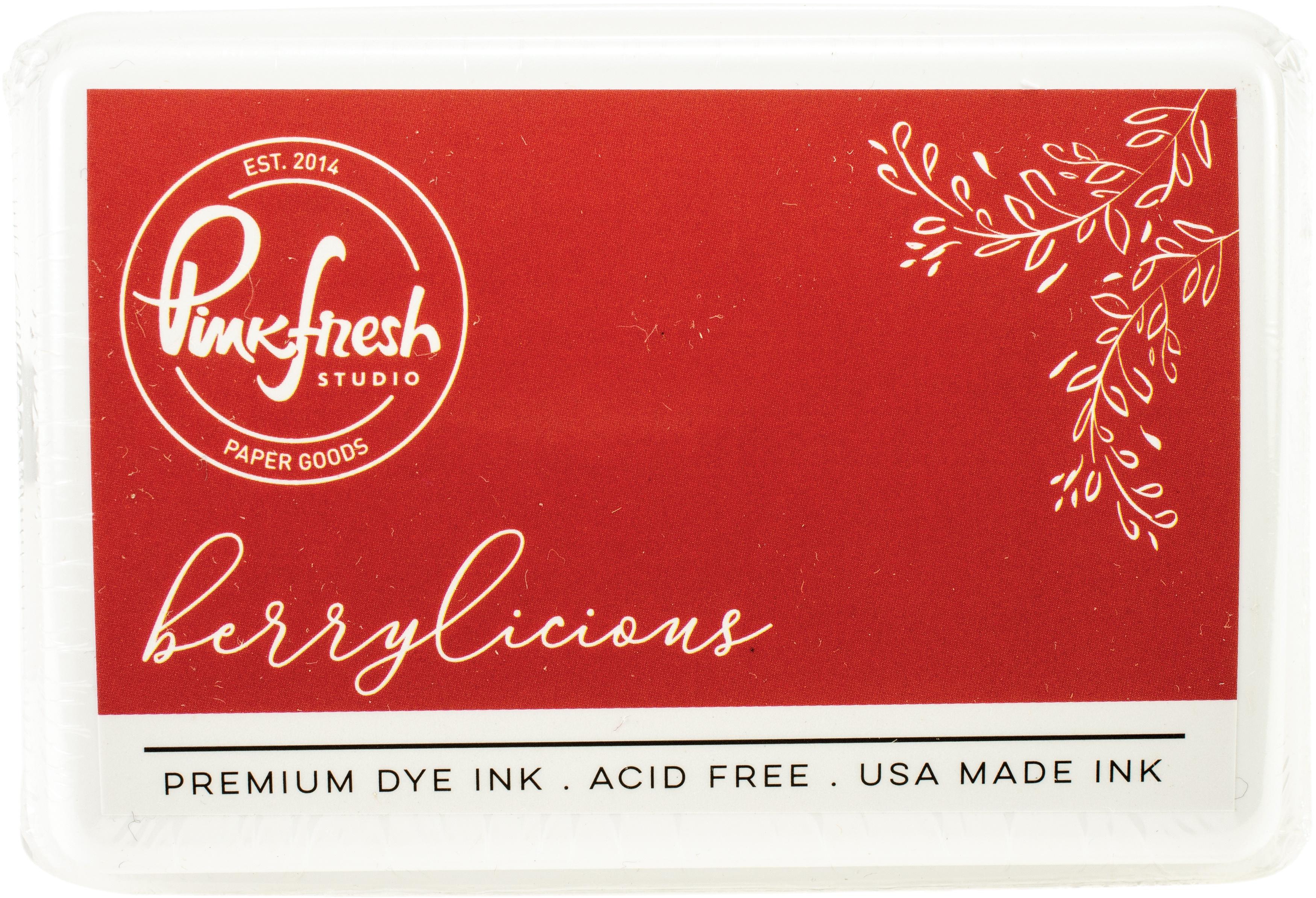 PinkFresh - Premium Dye Ink Pad - Berrylicious