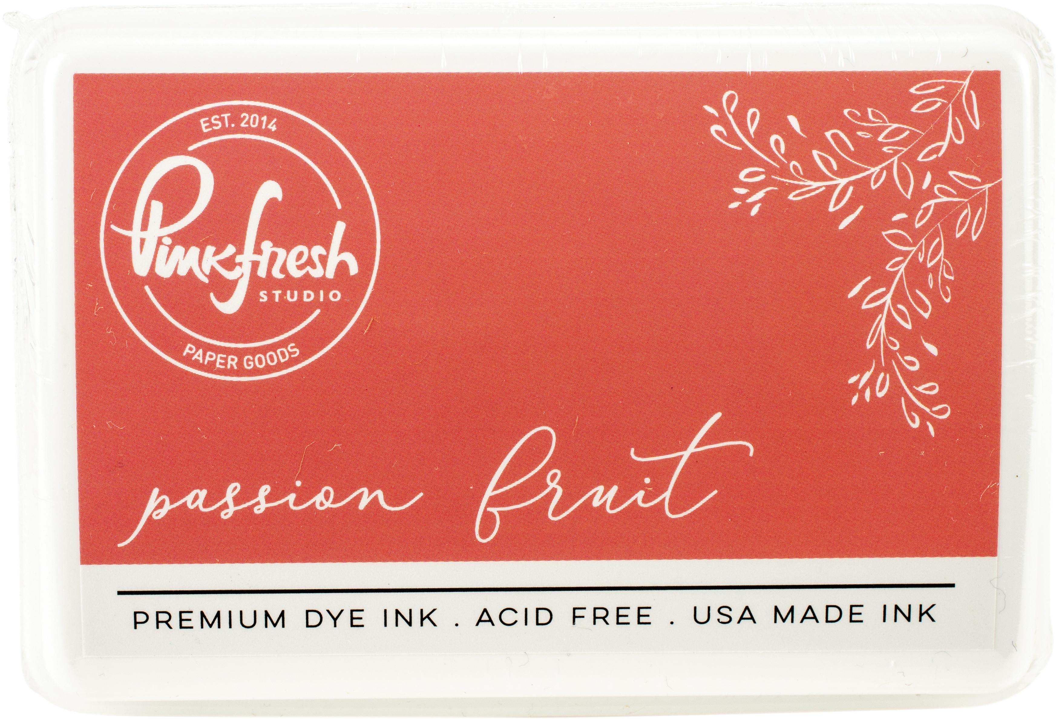 PinkFresh - Premium Dye Ink Pad - Passion Fruit