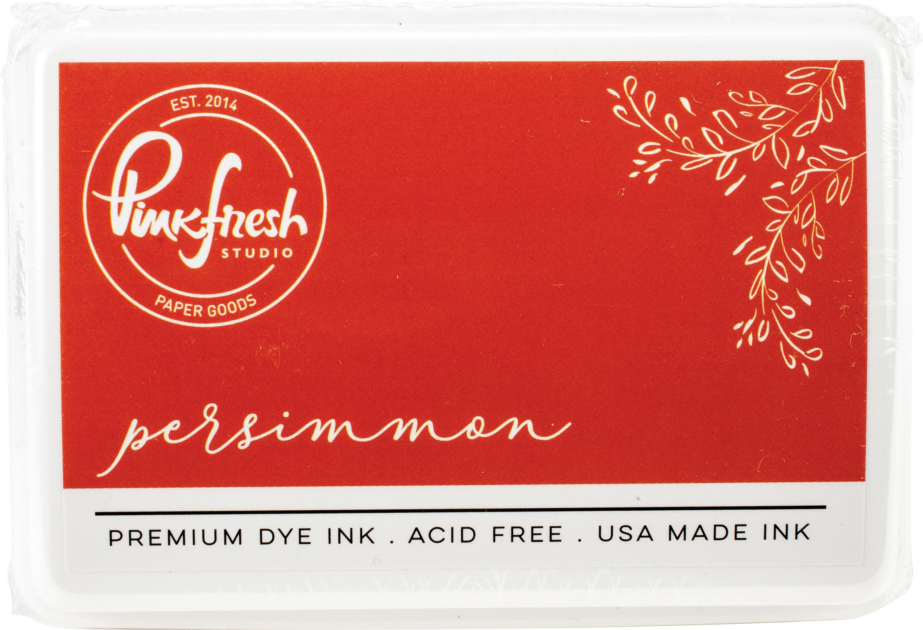 PinkFresh - Premium Dye Ink Pad - Persimmon