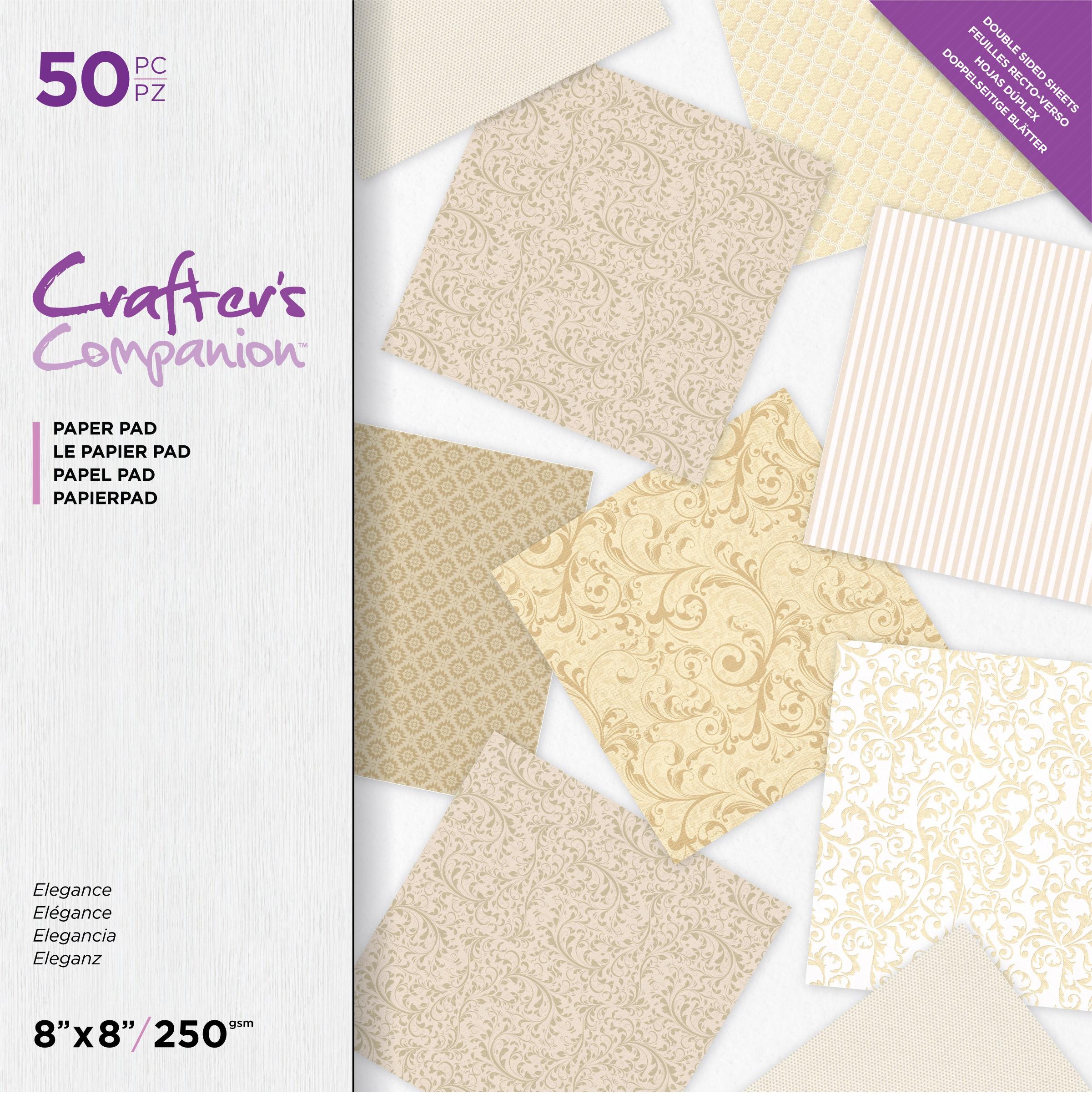 CrCo Paper Pack Elegance 8x8