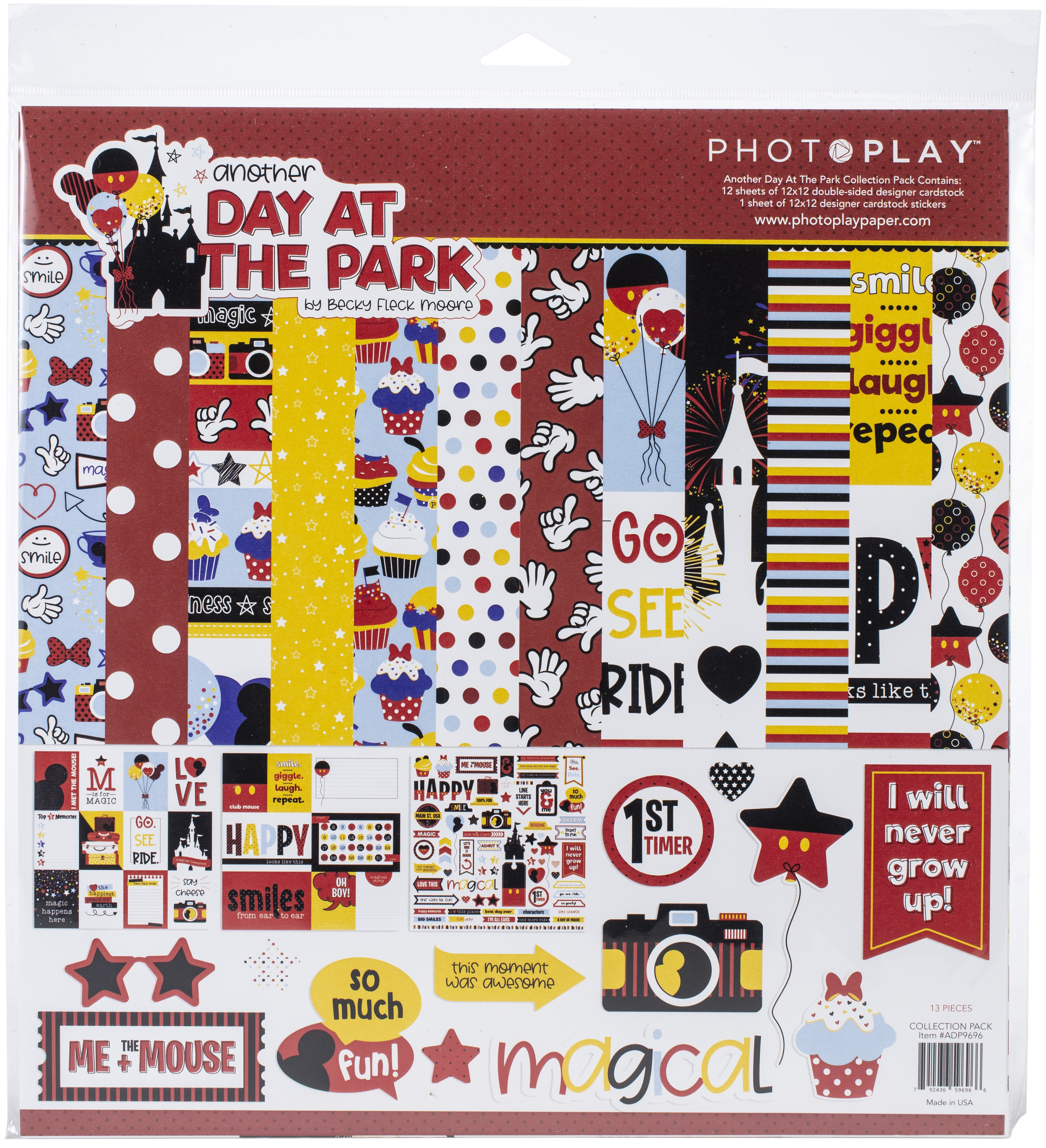 PhotoPlay Collection Pack 12X12 - Another Day At The Park