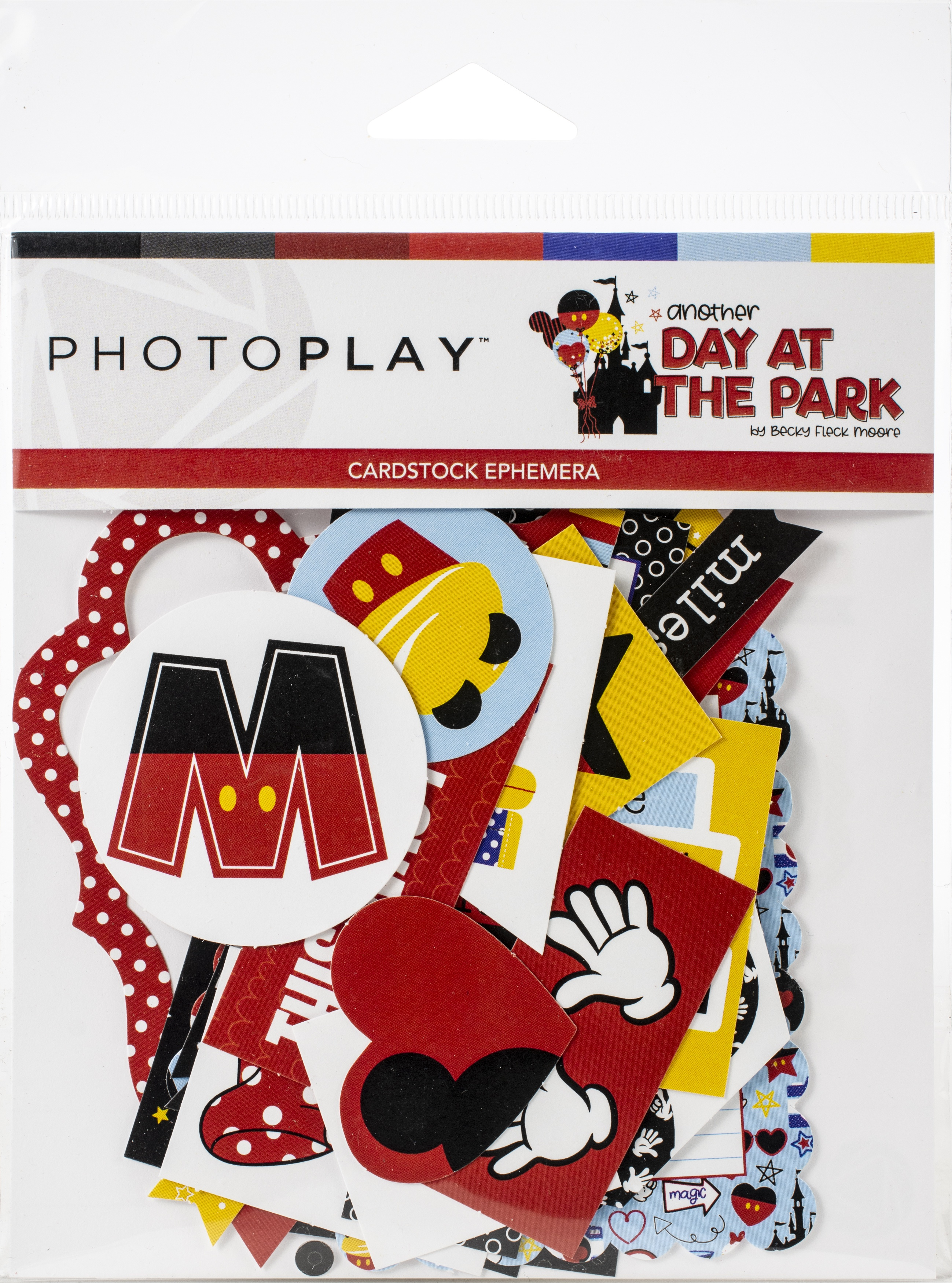 Another Day At The Park Ephemera Cardstock Die-Cuts-