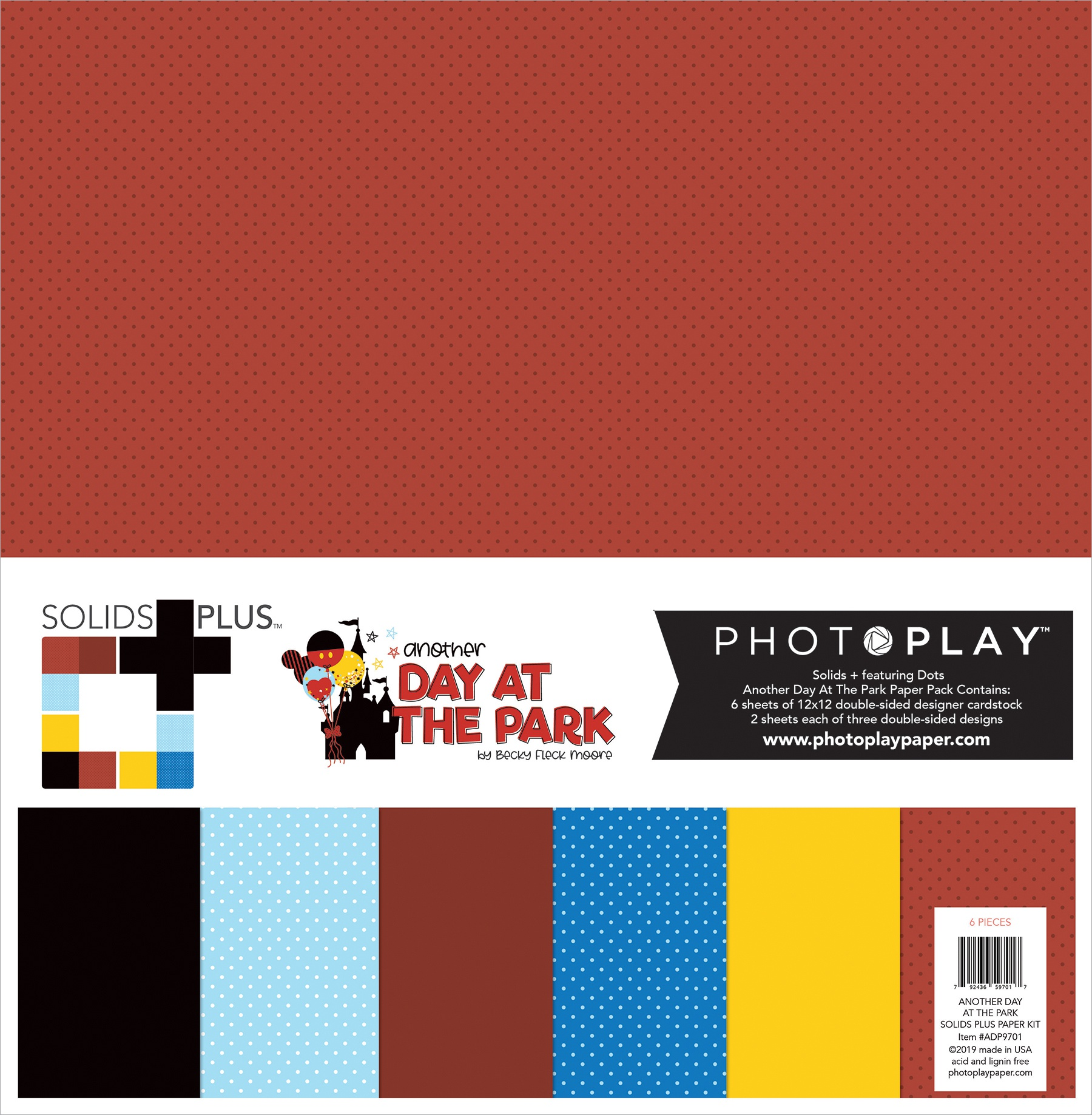 Another Day At The Park Collection Pack 12X12-