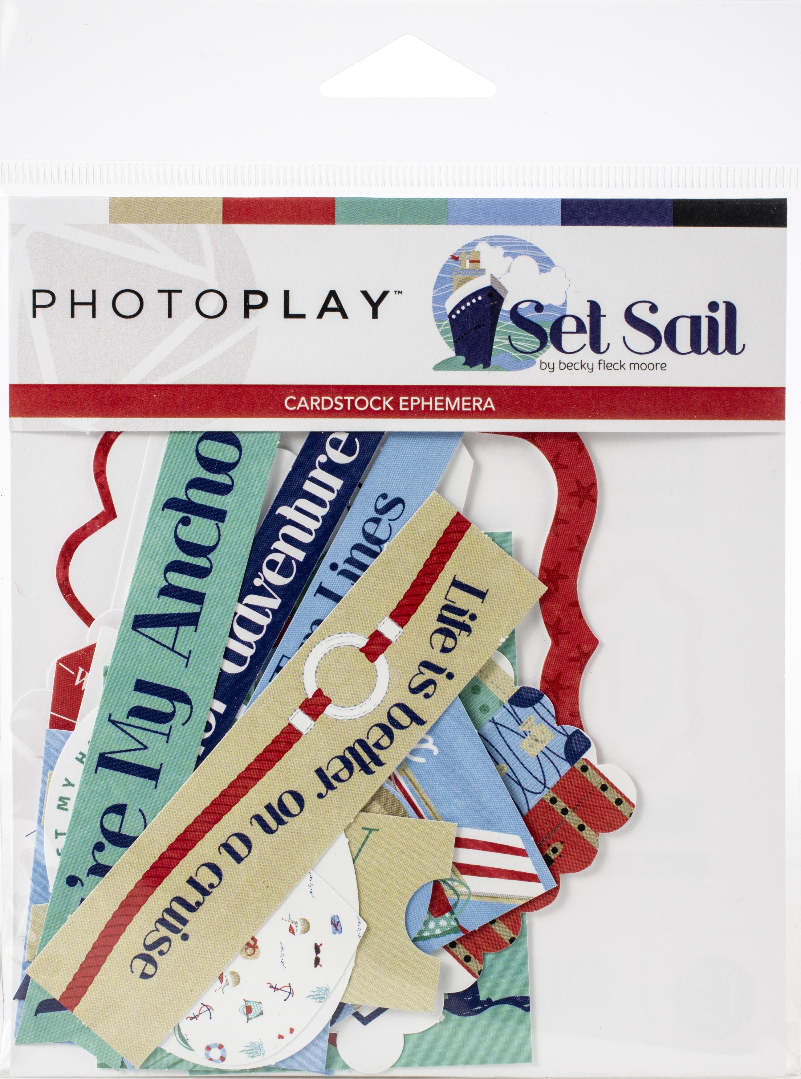 Set Sail Ephemera Cardstock Die-Cuts-