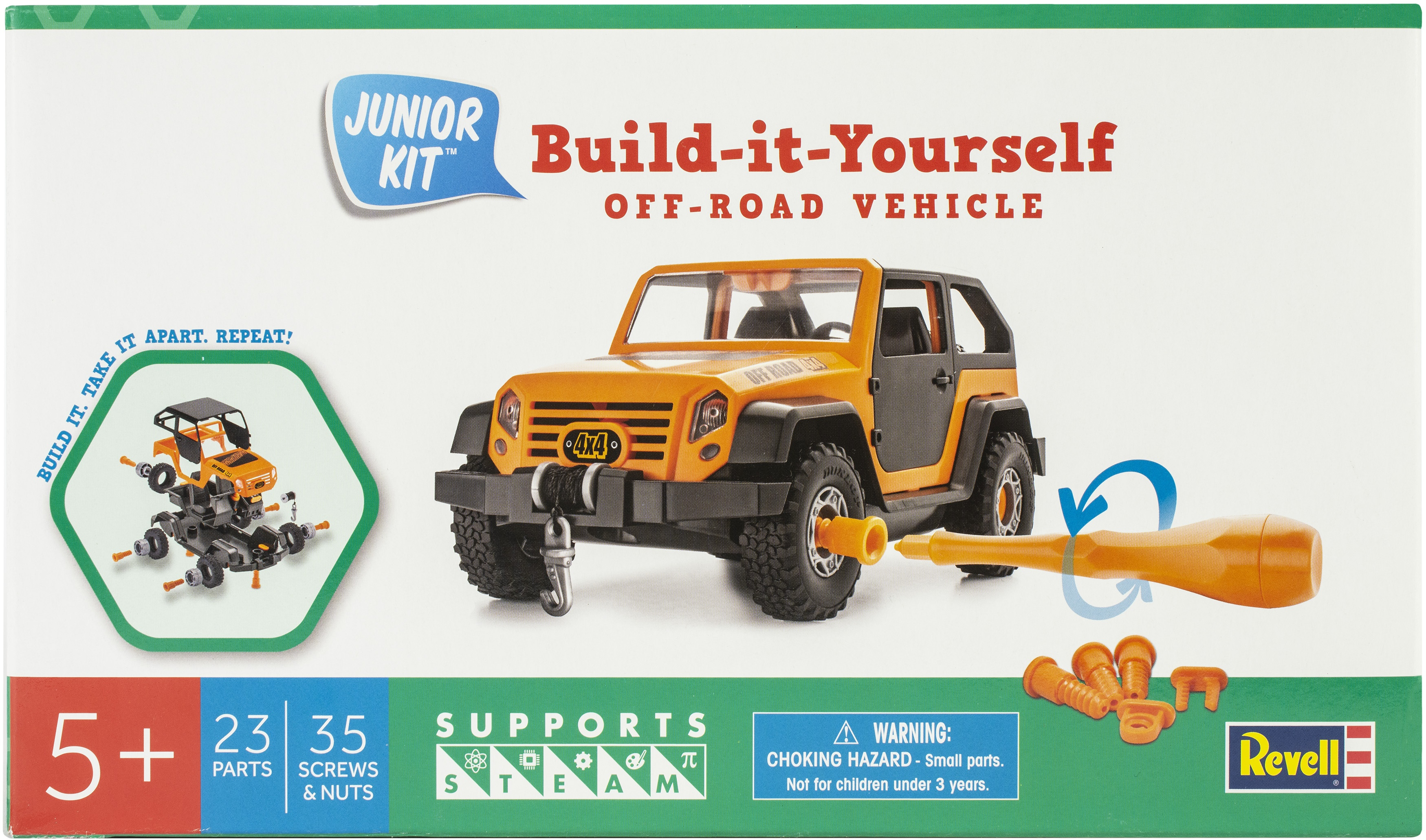 Revell Jr. Plastic Model Kit-Off Road Vehicle